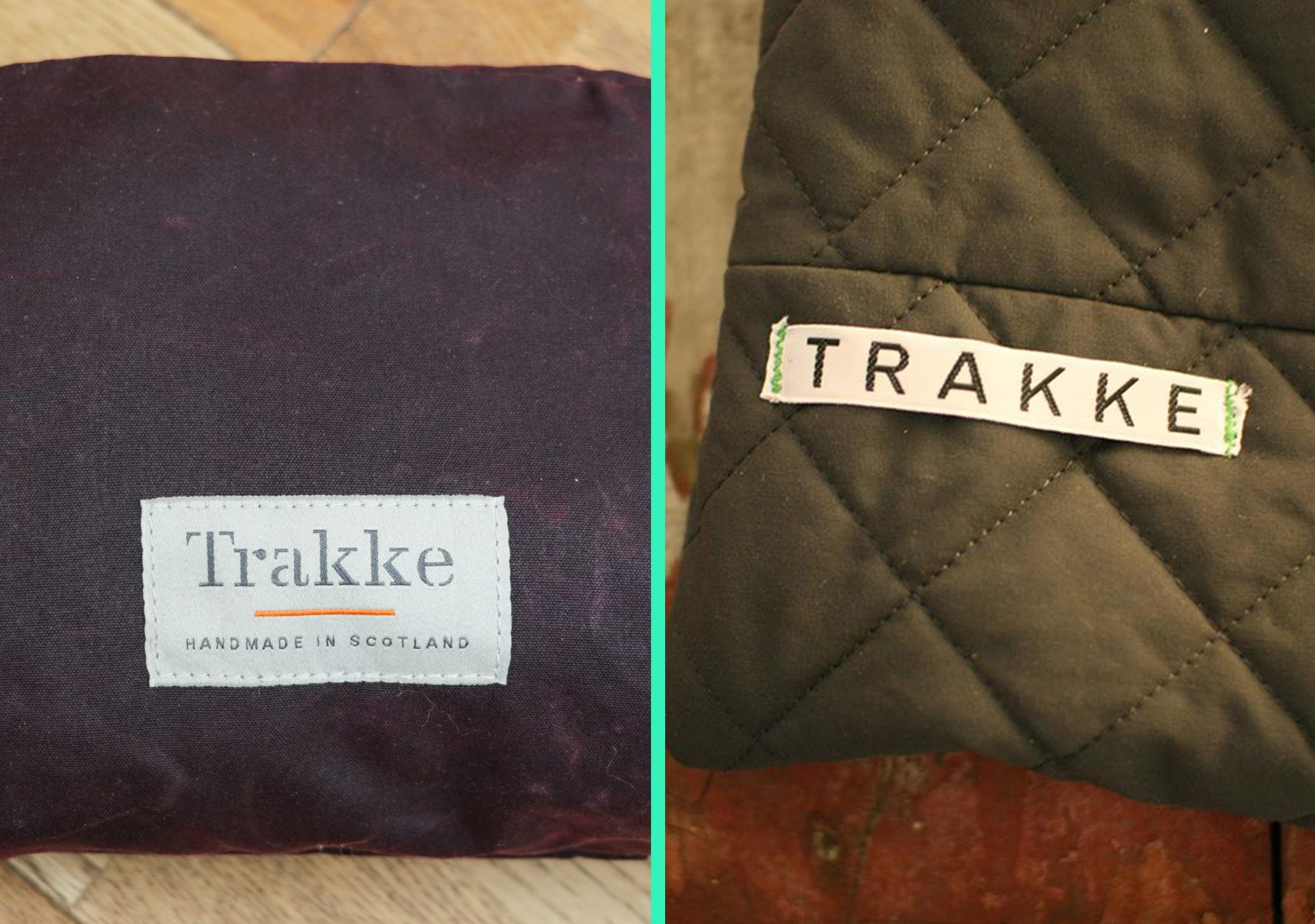 New And Old Trakke Branding