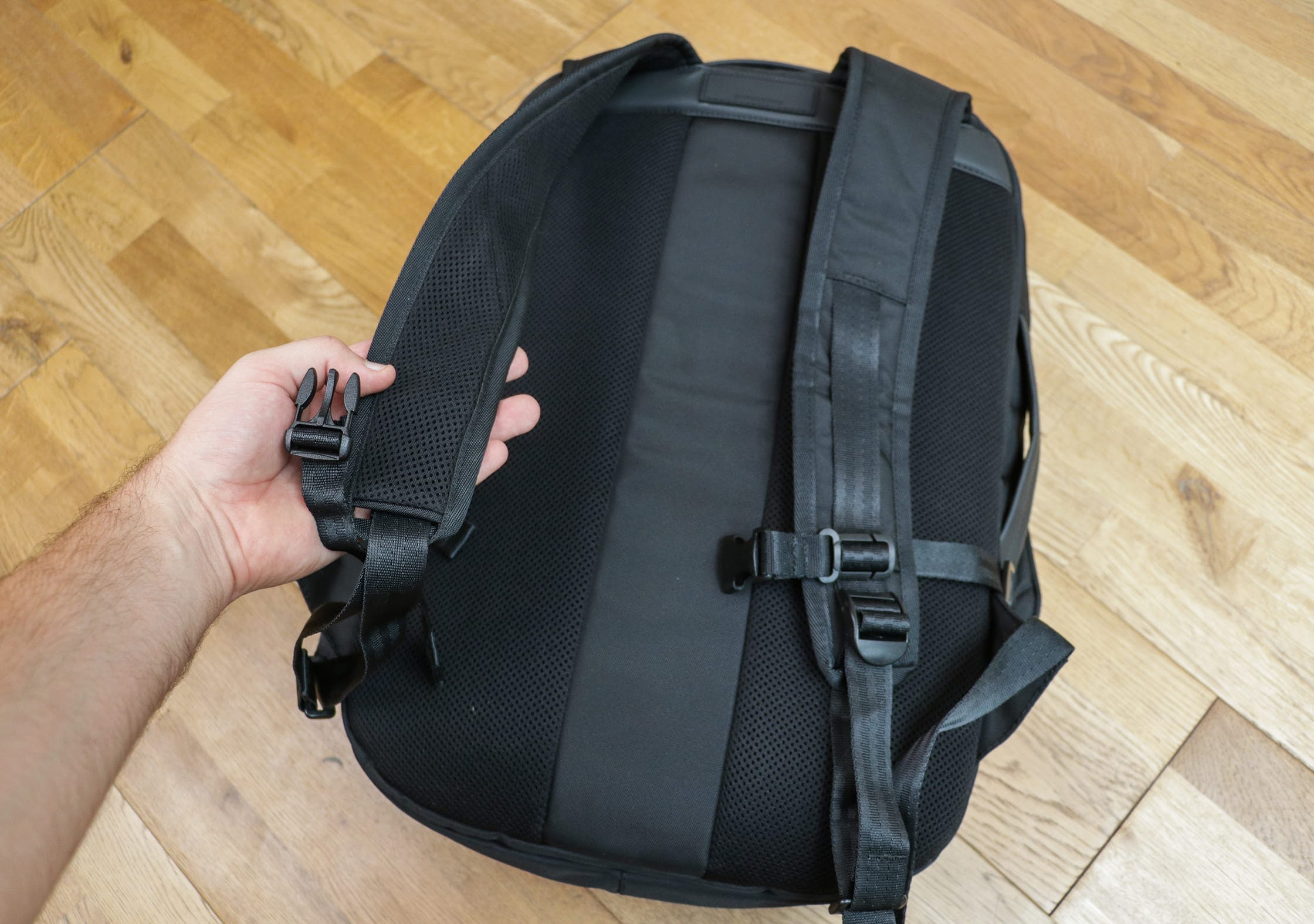 OPPOSETHIS Invisible Carry-On Shoulder Straps & Back Padding