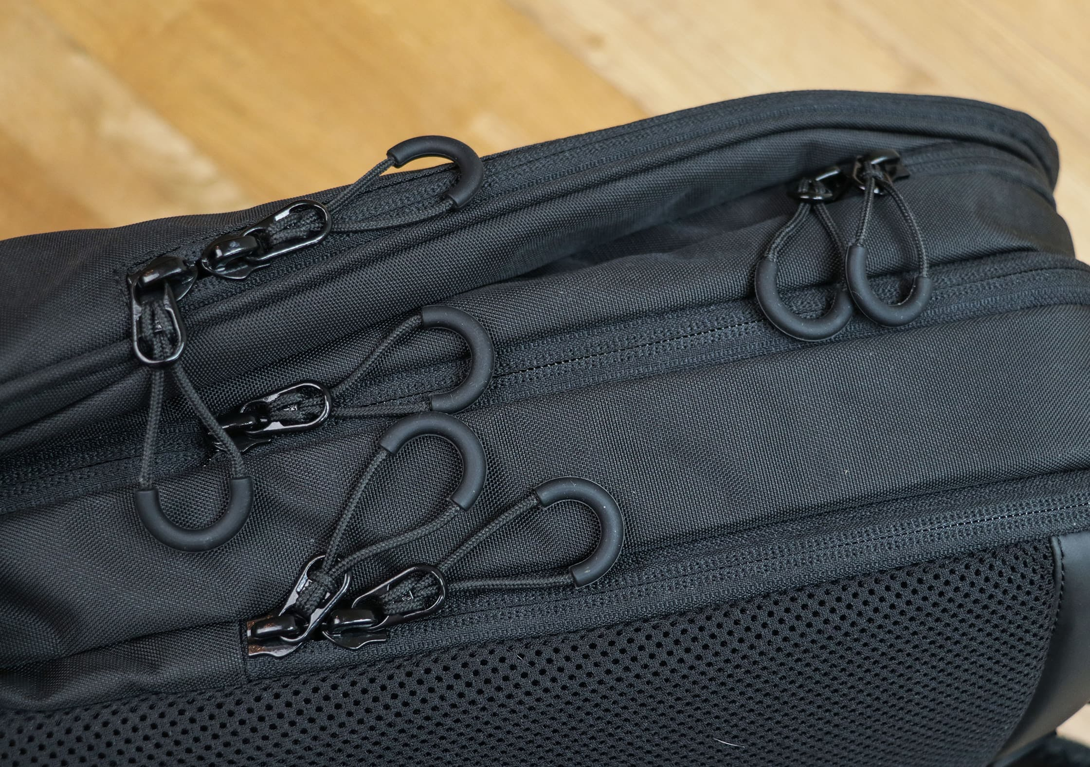 OPPOSETHIS Invisible Carry-On - So Many Zipper Pulls!
