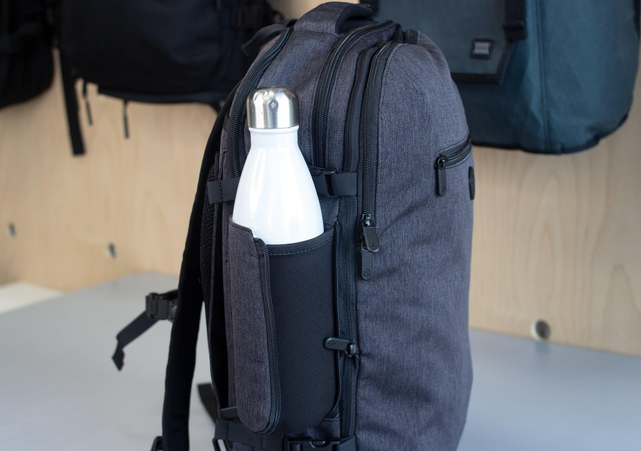 Tortuga Setout Divide Backpack Water Bottle Pocket