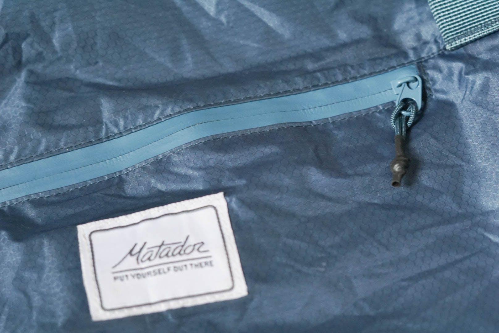 Matador Transit30 Duffle Water Resistant Zipper