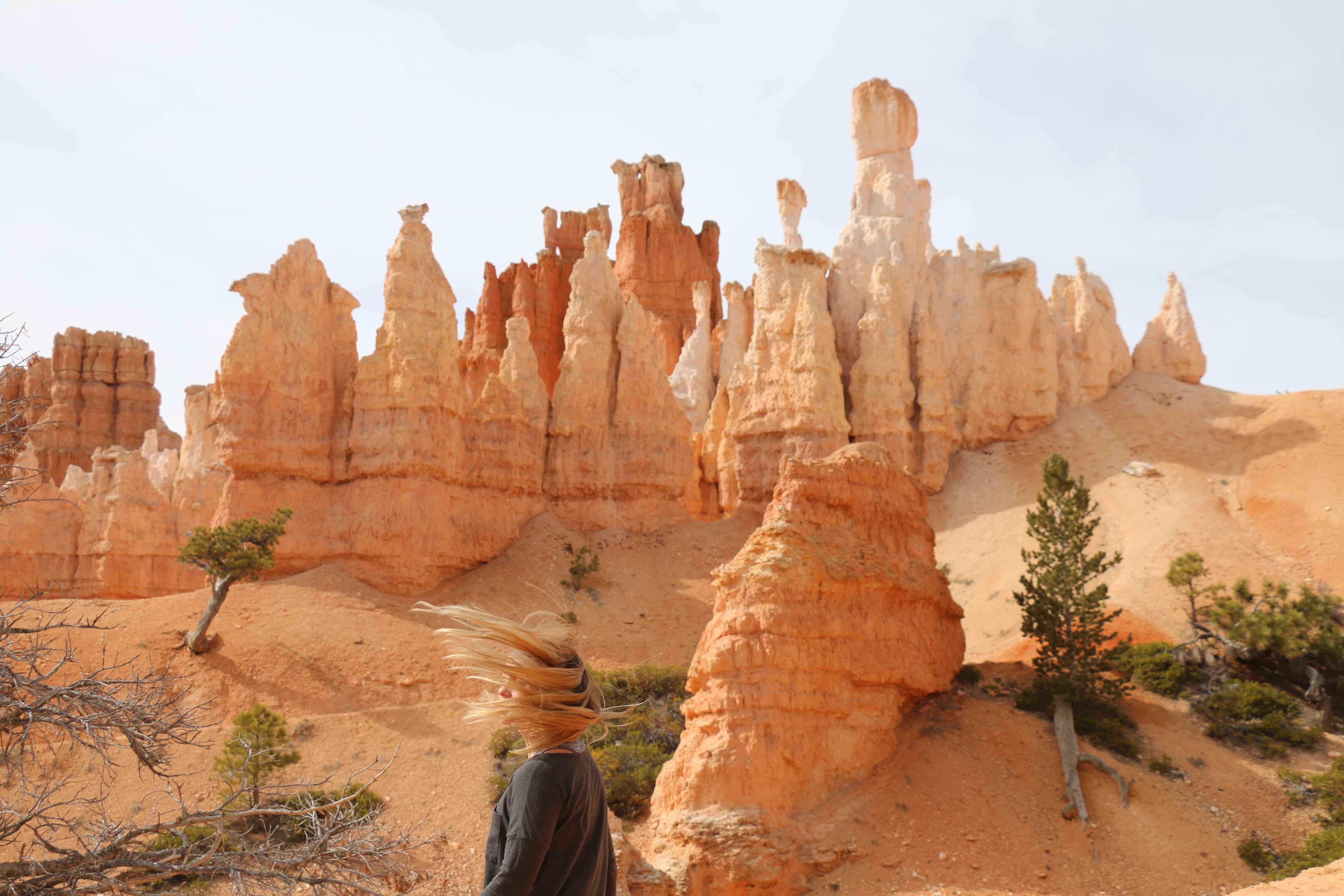 Shalee at Bryce Canyon National Park