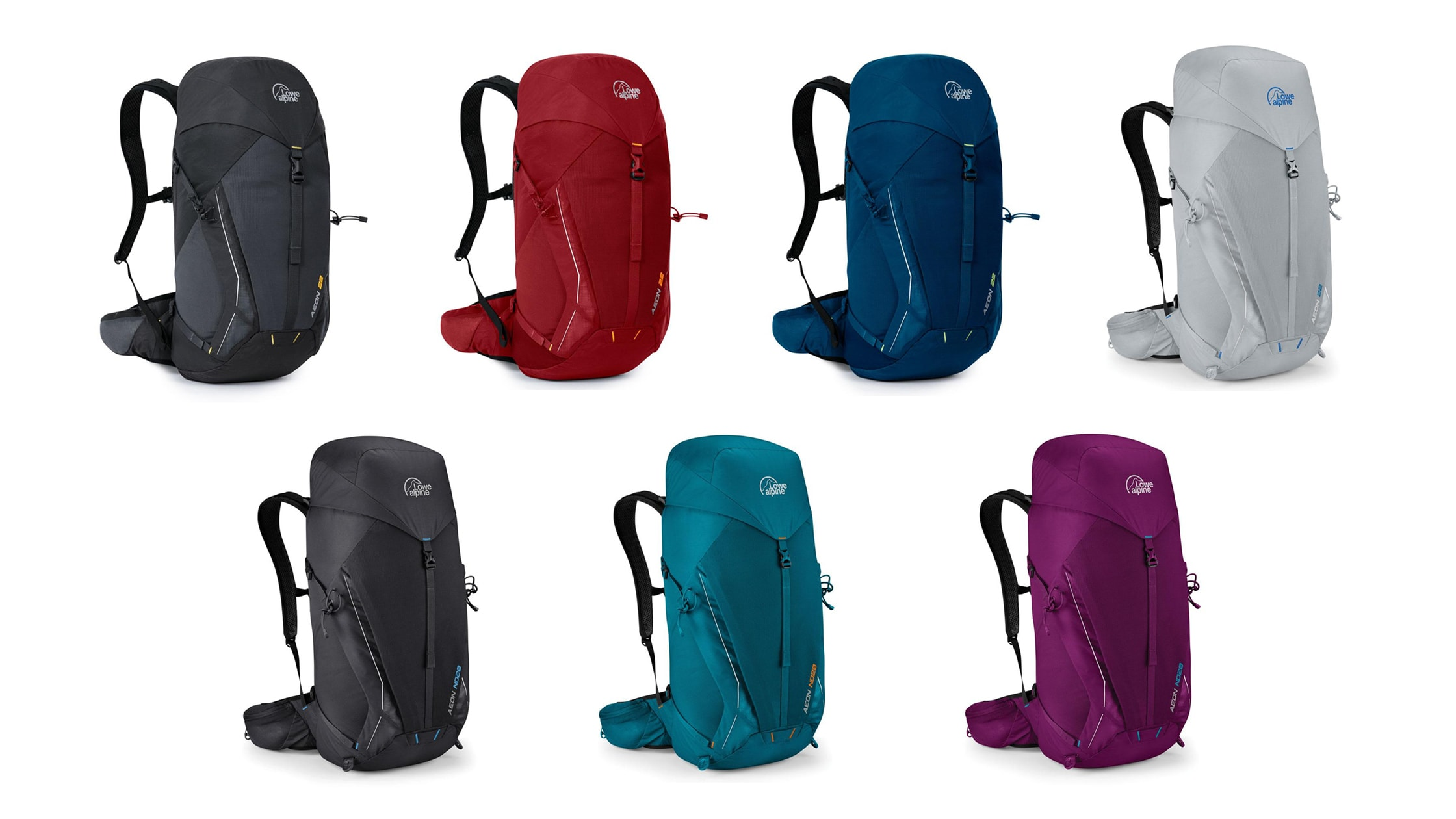 Available Colors For The Lowe Alpine Aeon