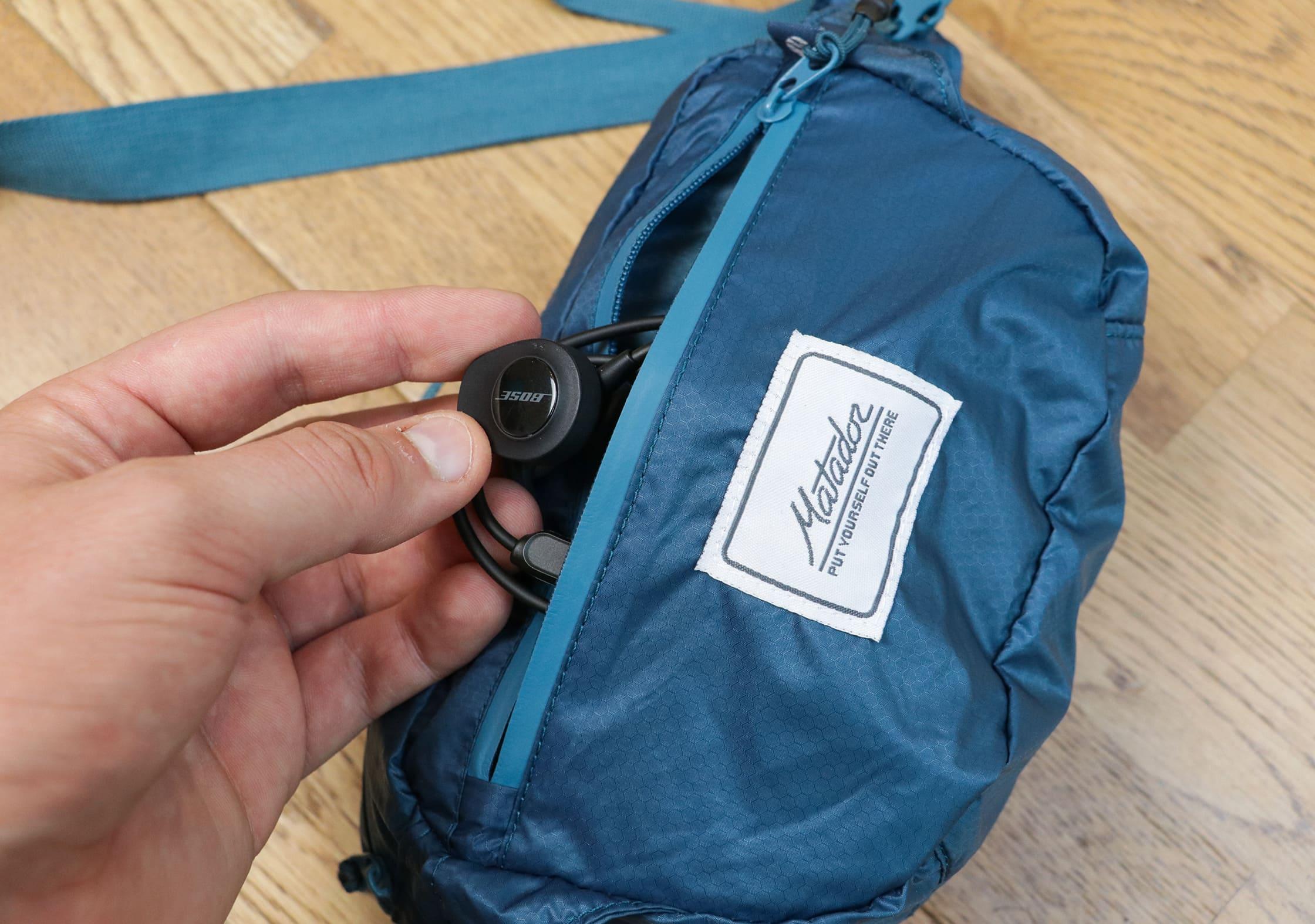 Front Quick-Grab Pocket