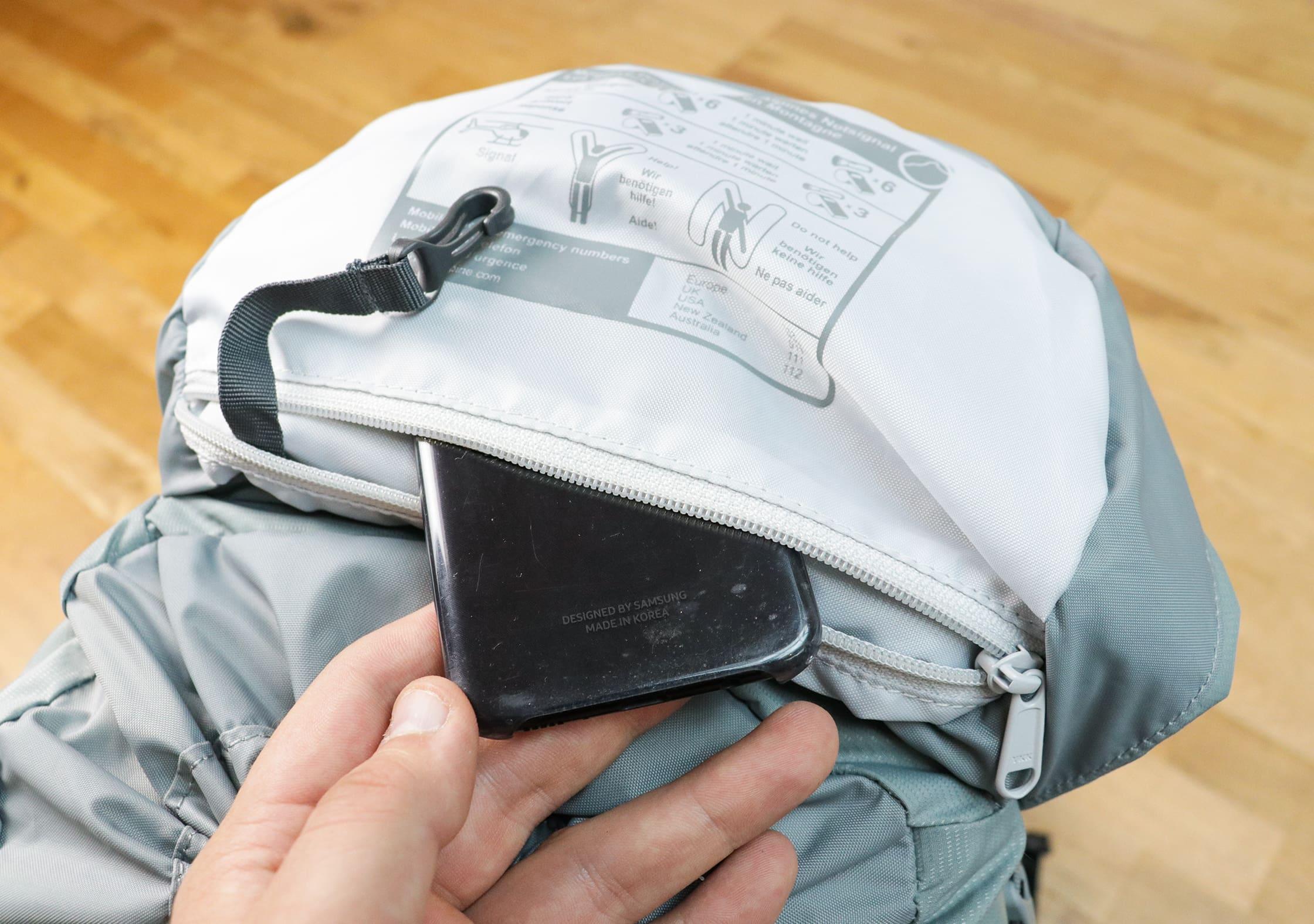 Lowe Alpine Aeon Interior Lid Pocket