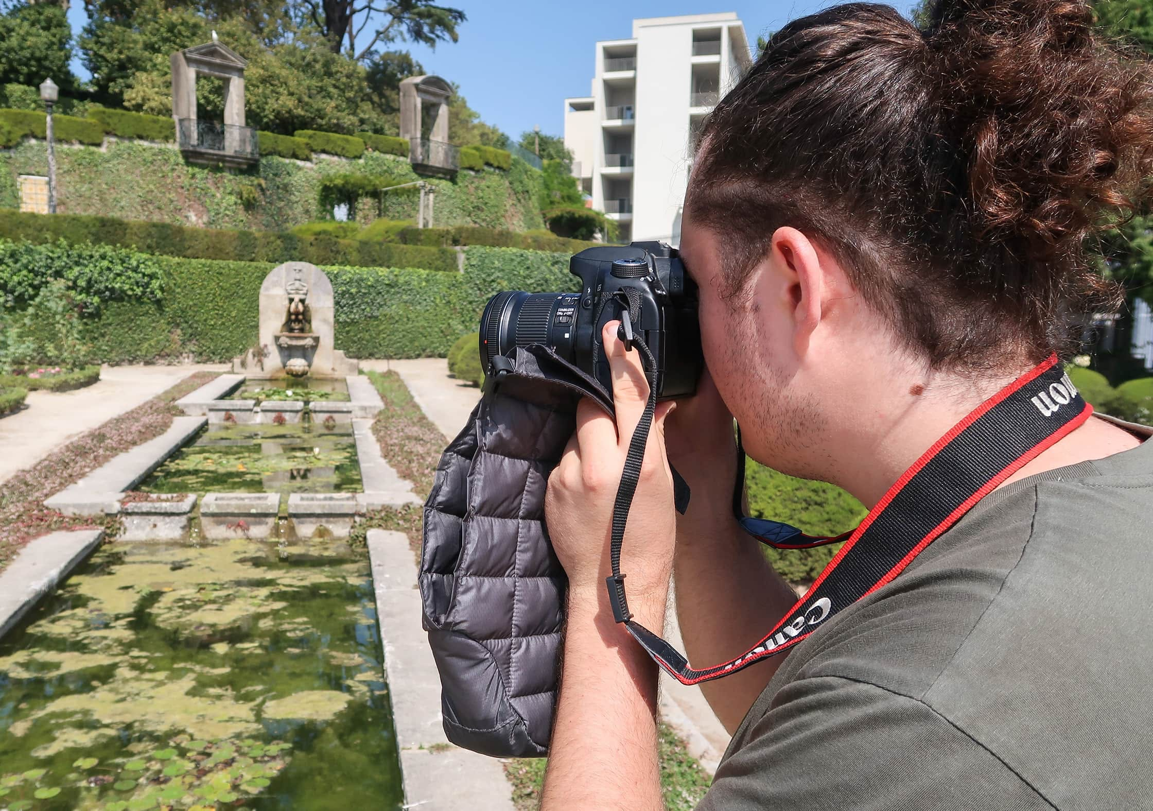 Matador Camera Base Layer At The Crystal Palace Gardens In Porto, Portugal