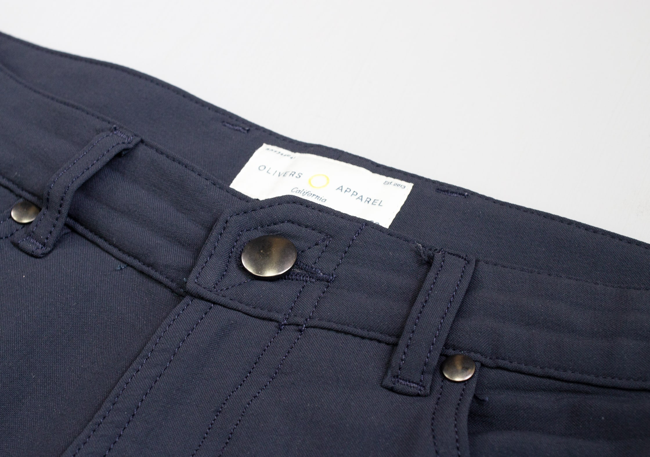 OLIVERS Passage Pant Rivets & Button