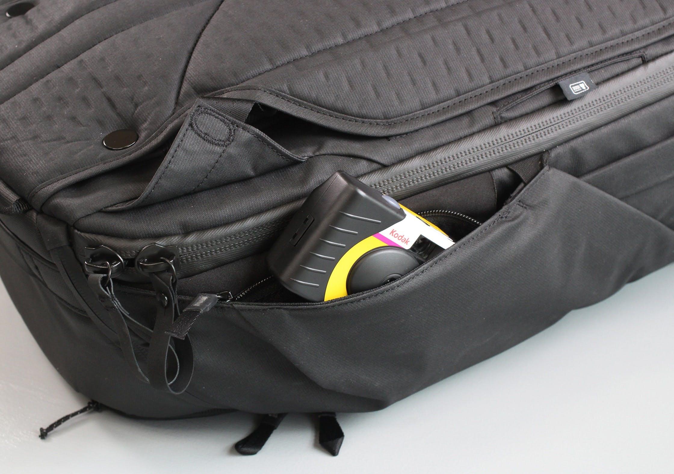 Peak Design Travel Backpack Hidden Side Pocket