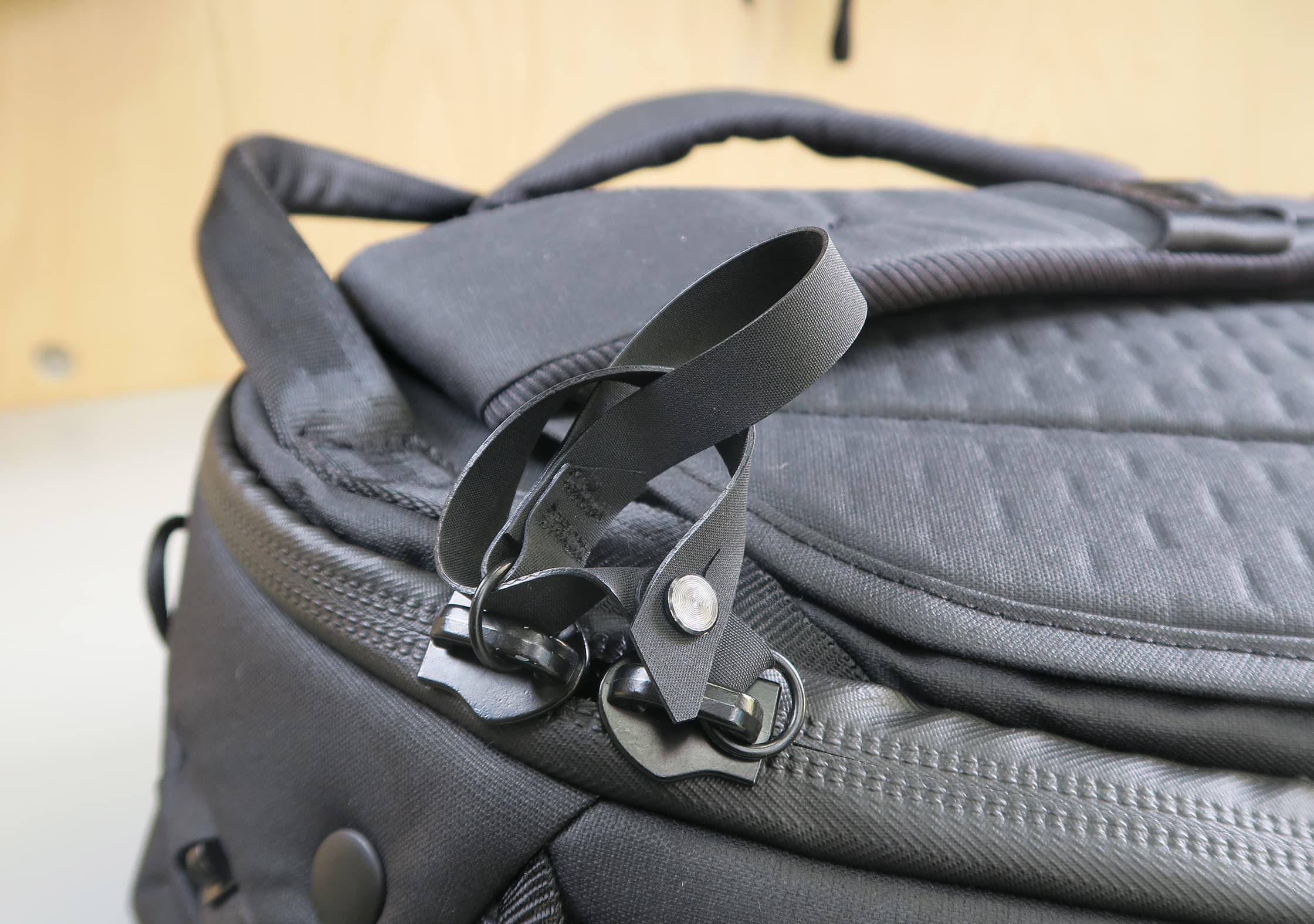 Peak Design Travel Backpack Lockable Zips