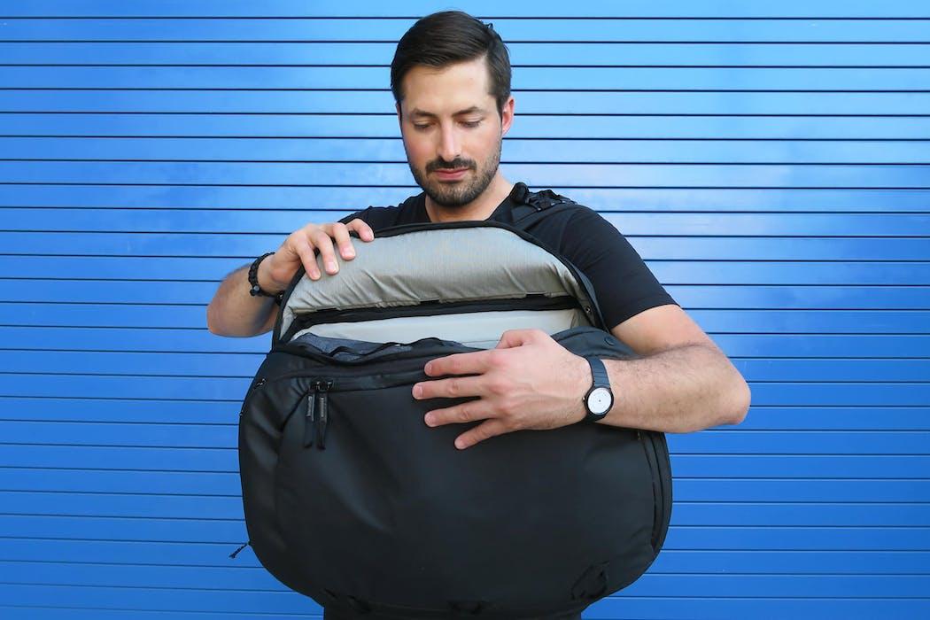 Peak Design Travel Backpack Side Access