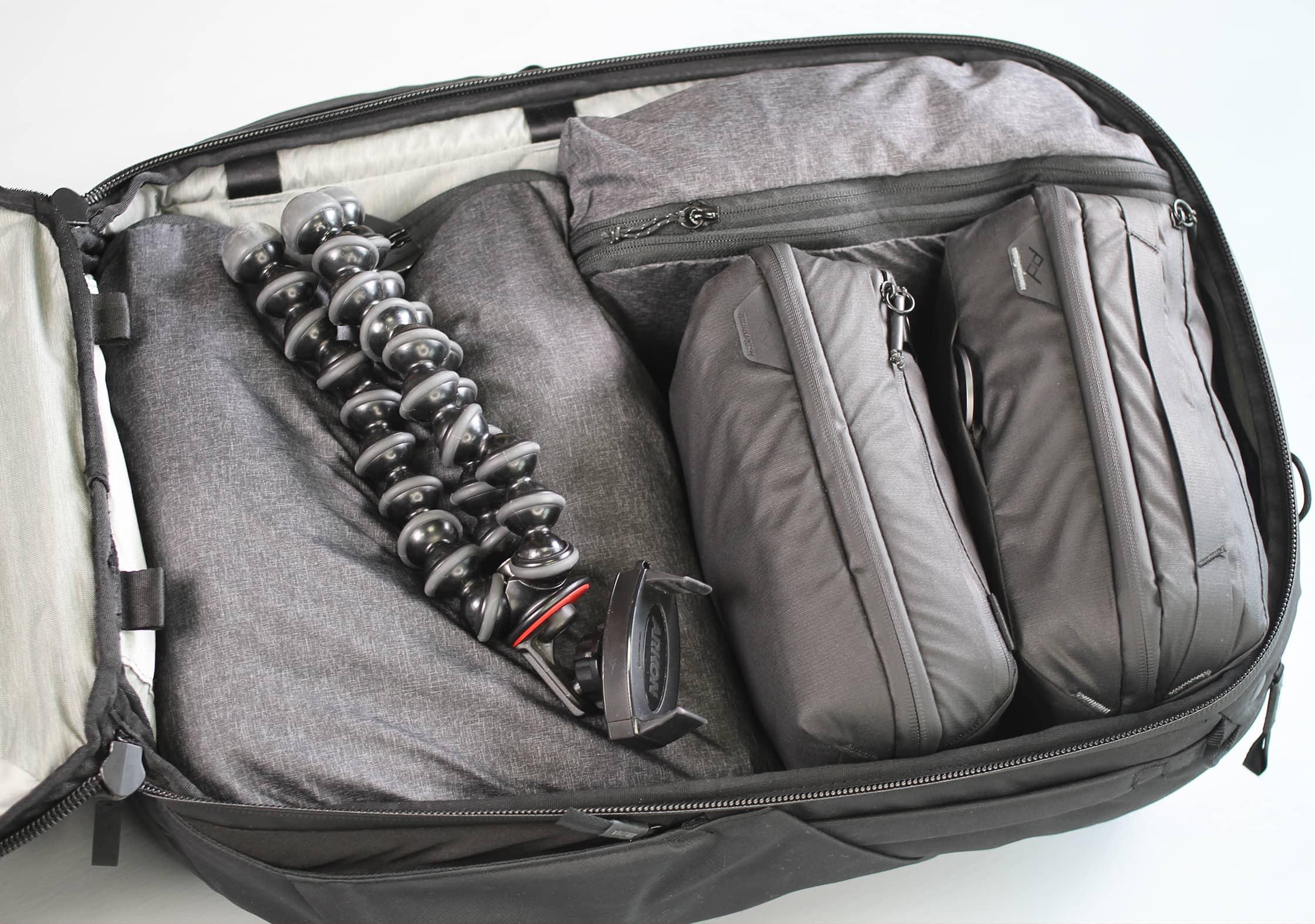 Peak Design Travel Backpack Main Compartment