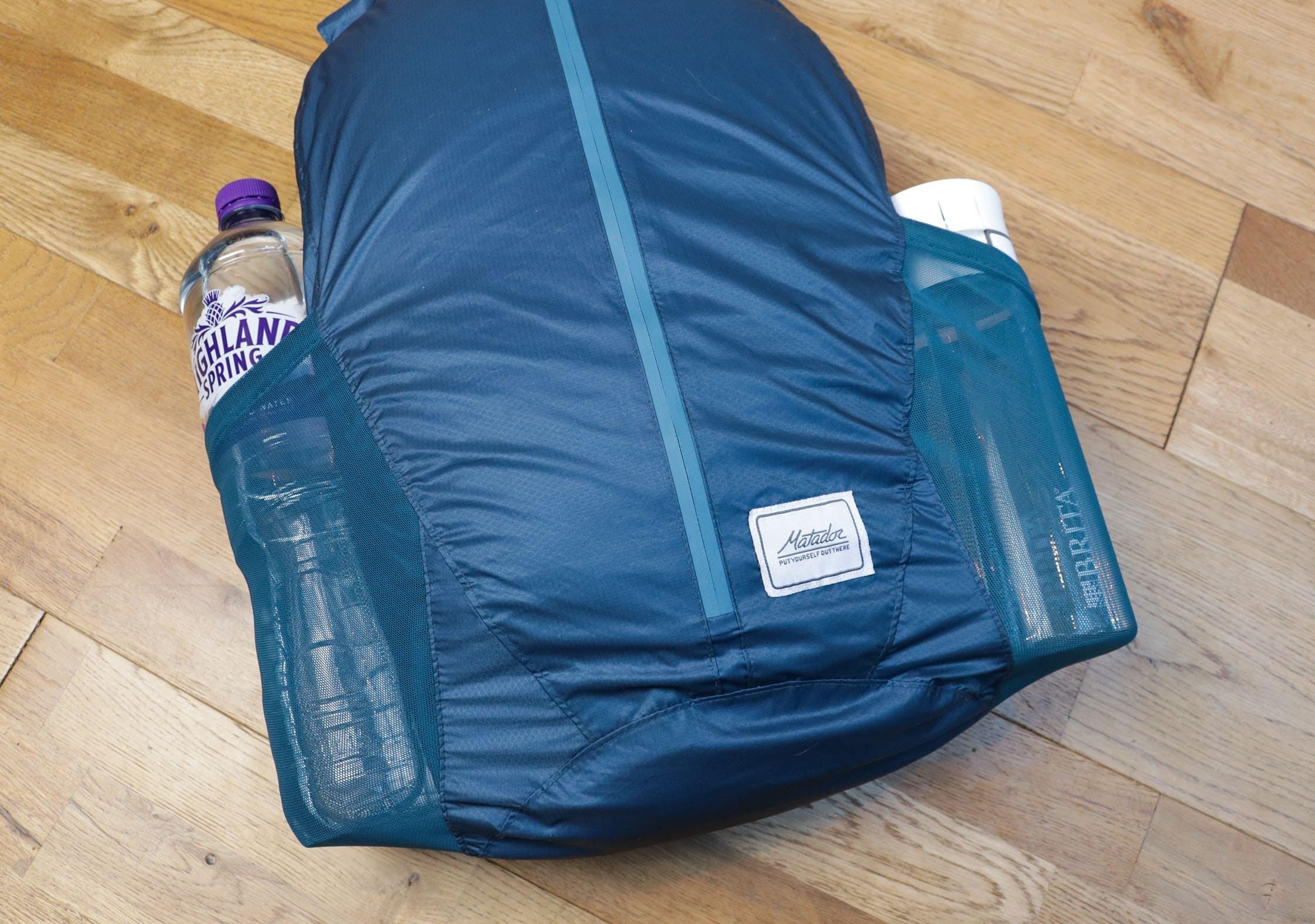 Matador Freerain24 Side Water Bottle Pockets