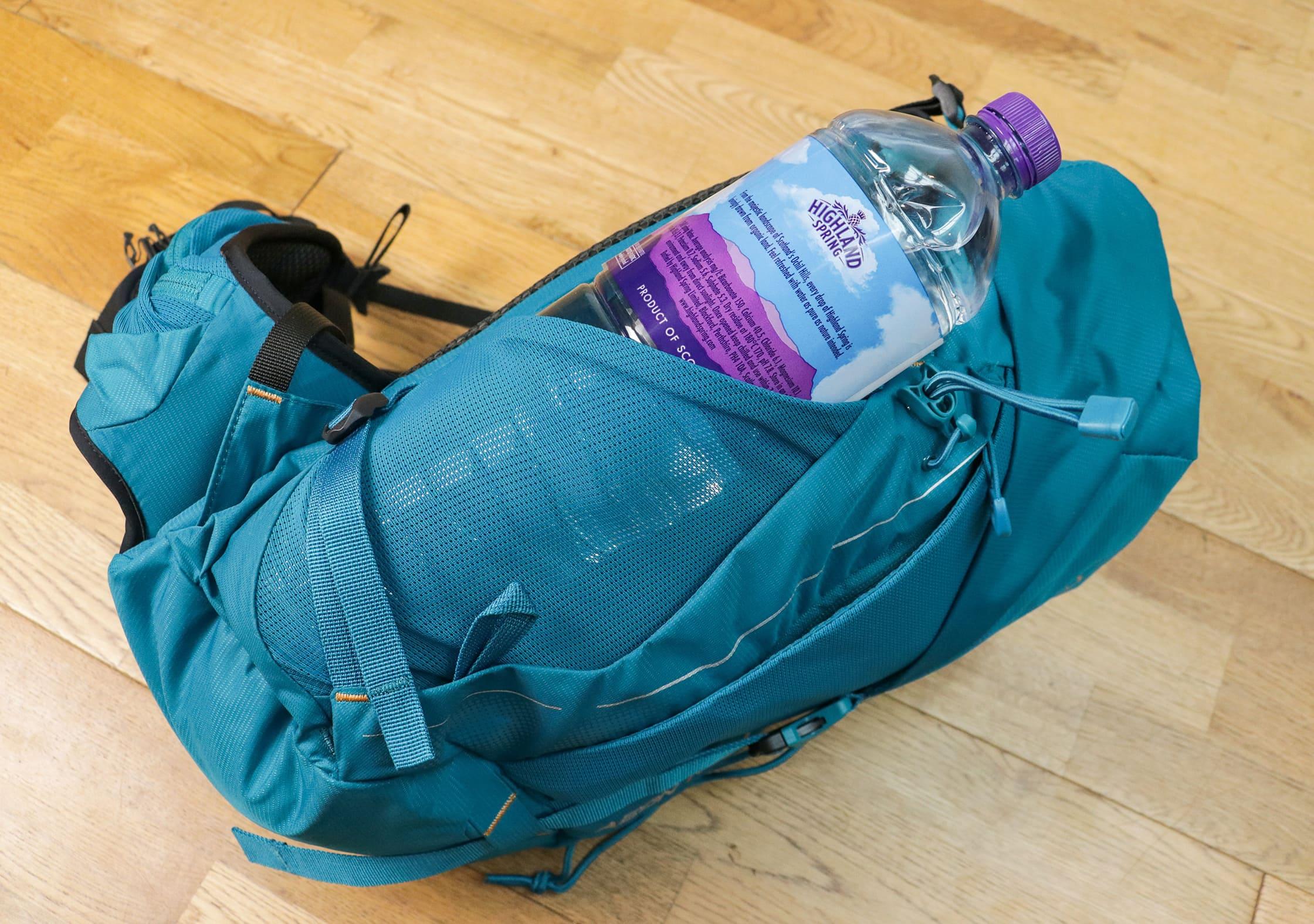 Water Bottle Pocket On The Lowe Alpine Aeon
