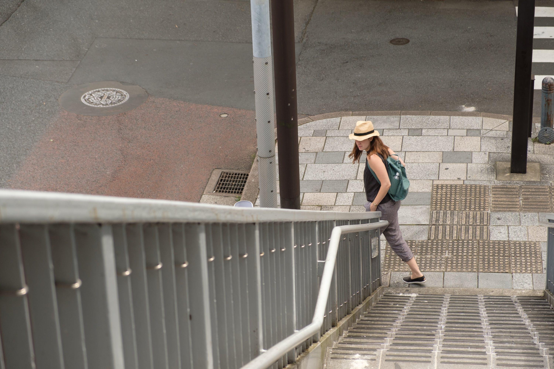 Mel McFarland In Tokyo, Japan