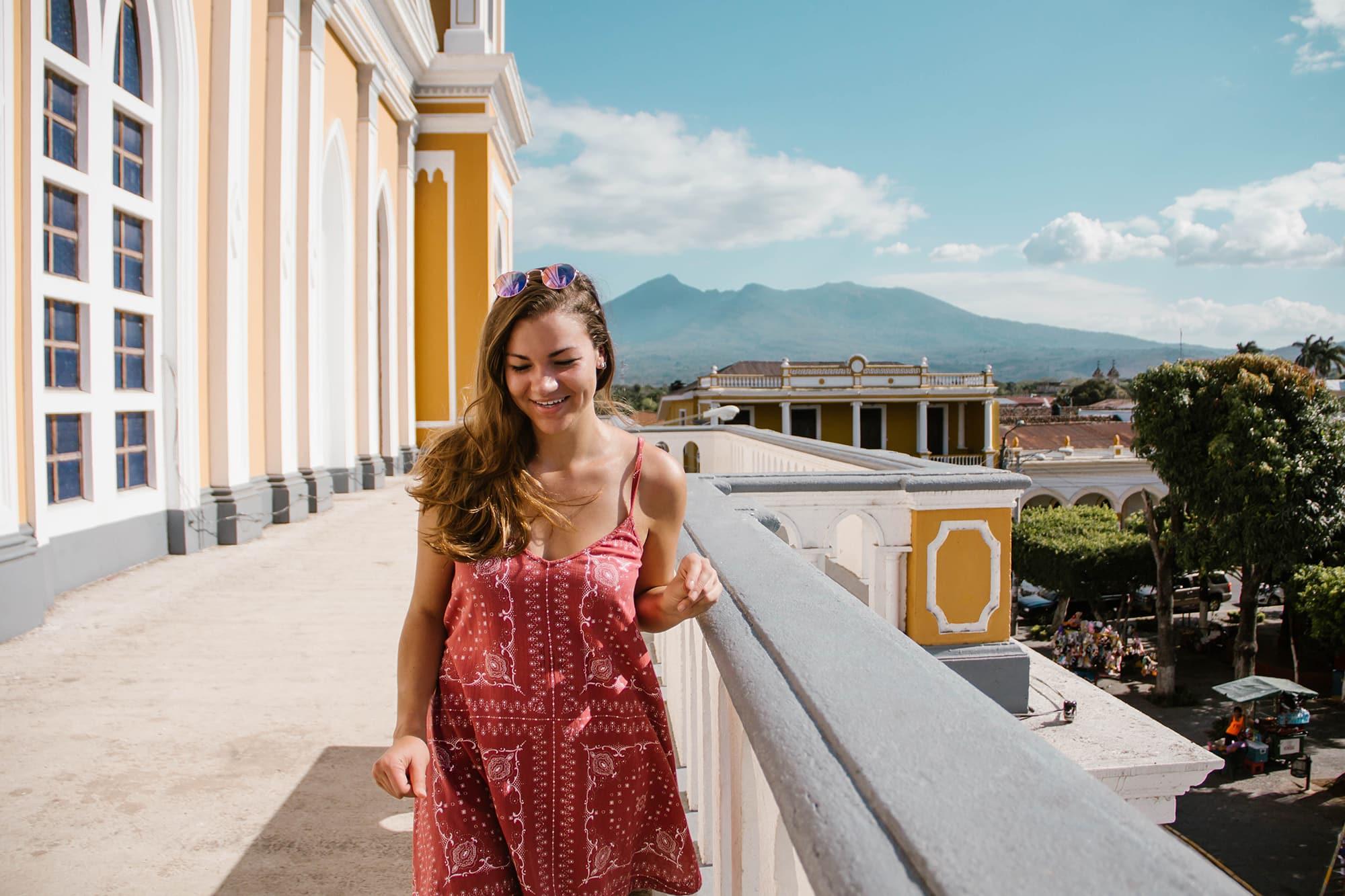Erica Latack in Granada, Nicaragua