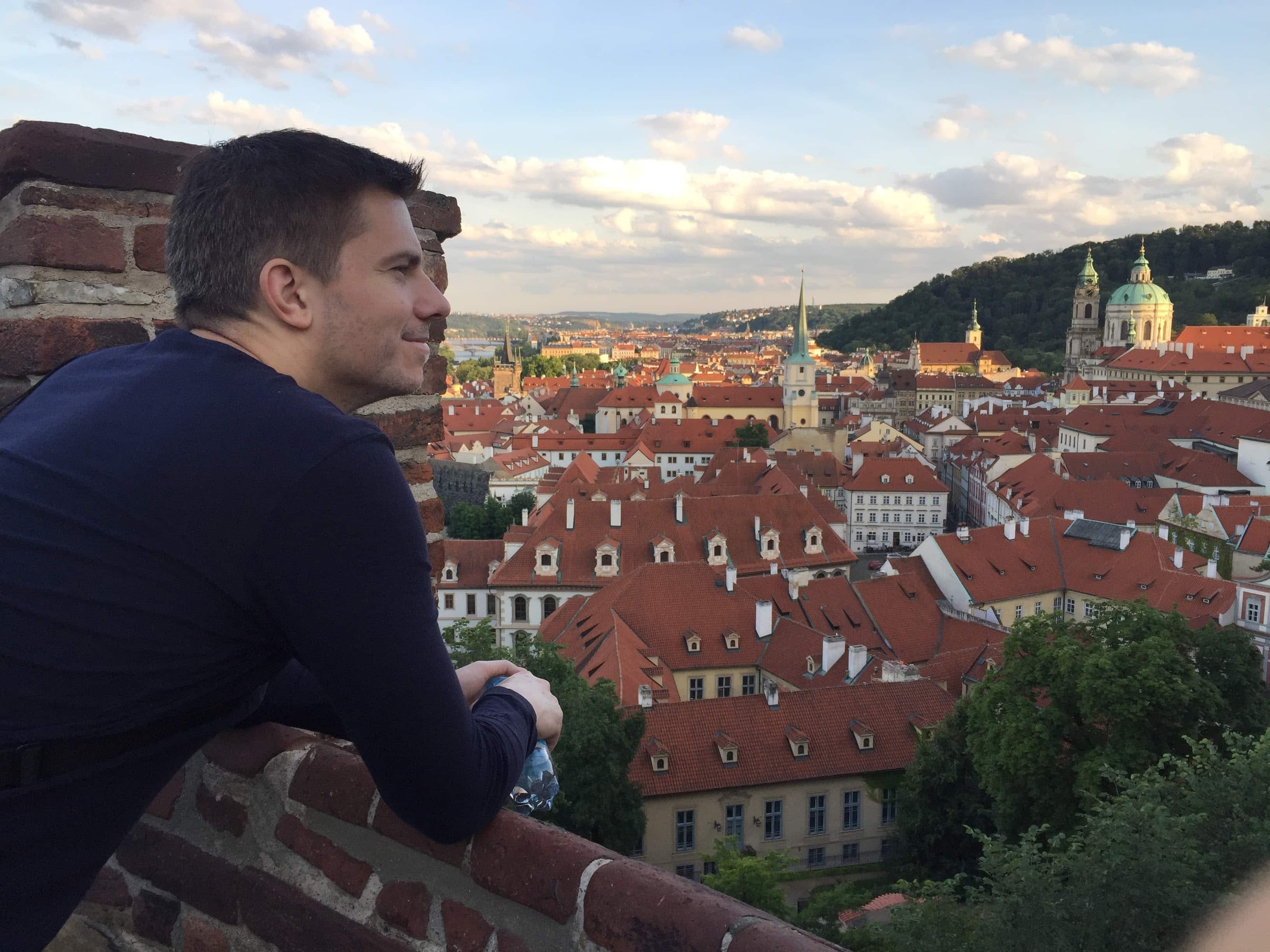 Jaayden Halko in Prague