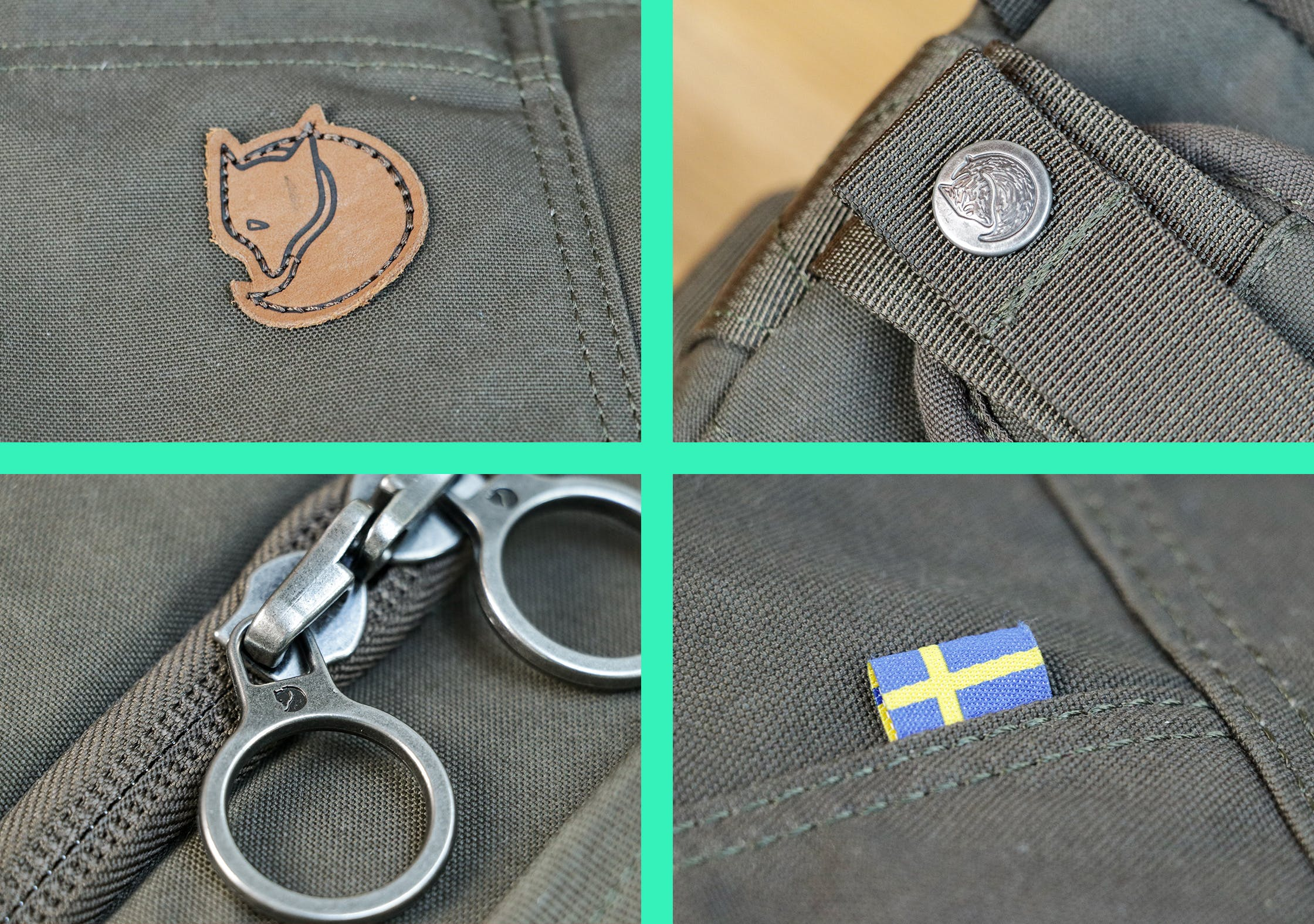 Branding On The Fjallraven Splitpack