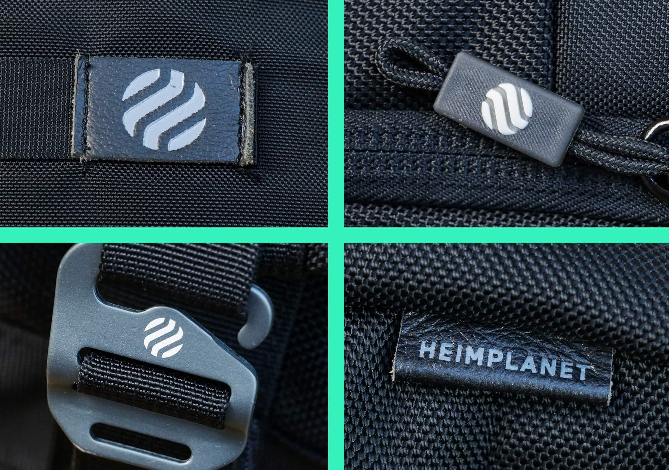 Branding On The Heimplanet Monolith Weekender