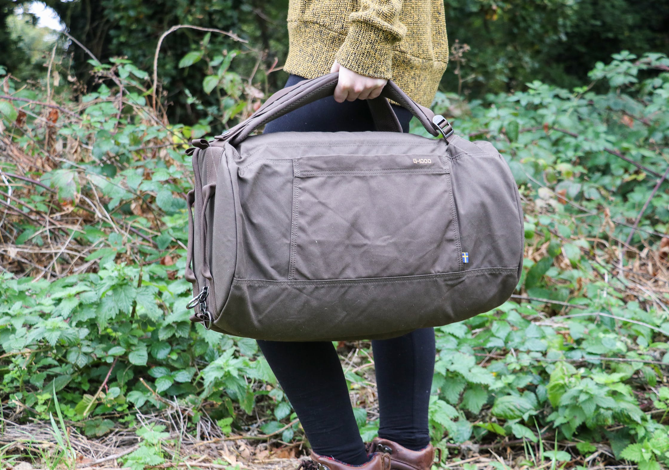 Carrying The Fjallraven Splitpack As A Duffel