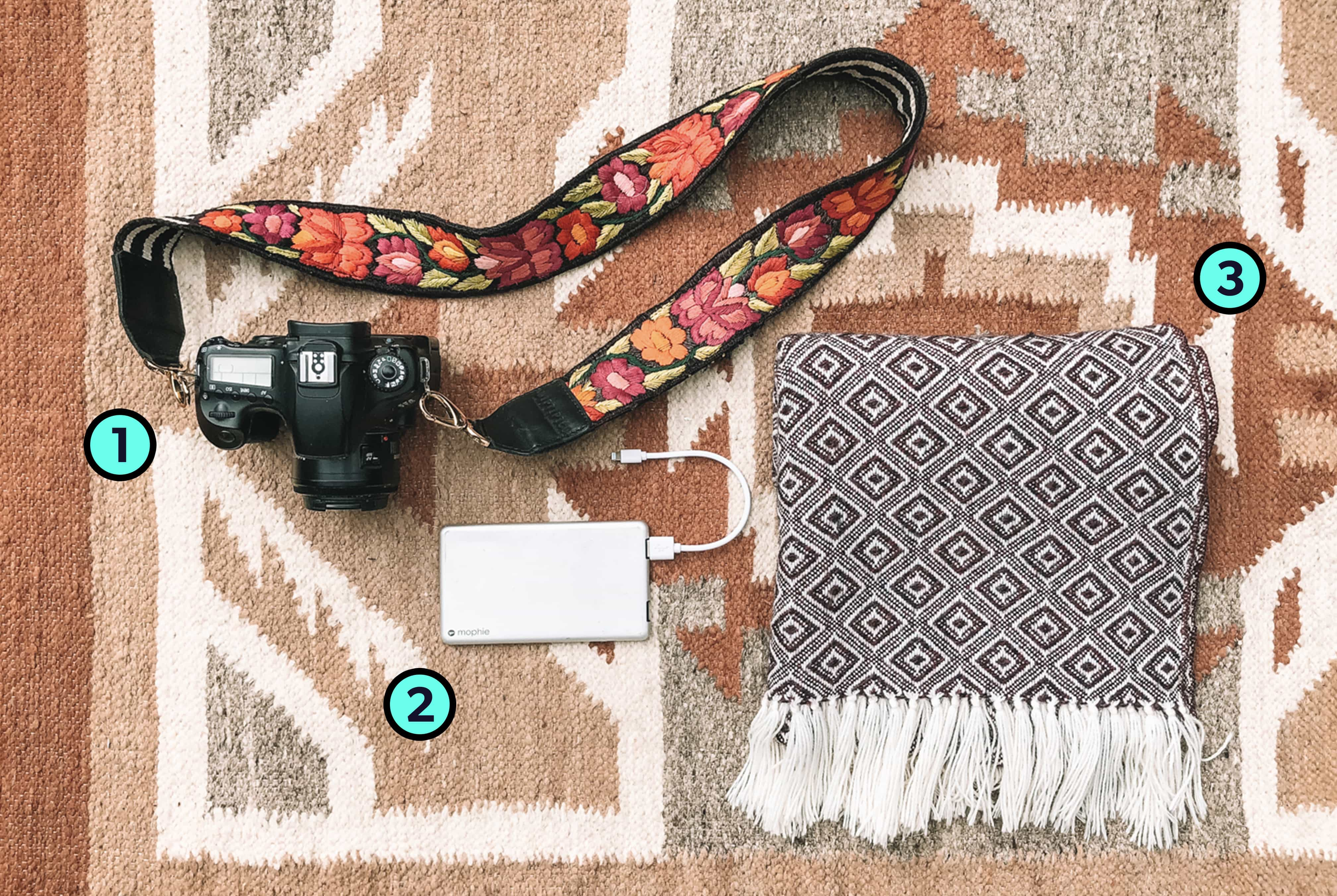 Erica Latack's Trusty Travel Items