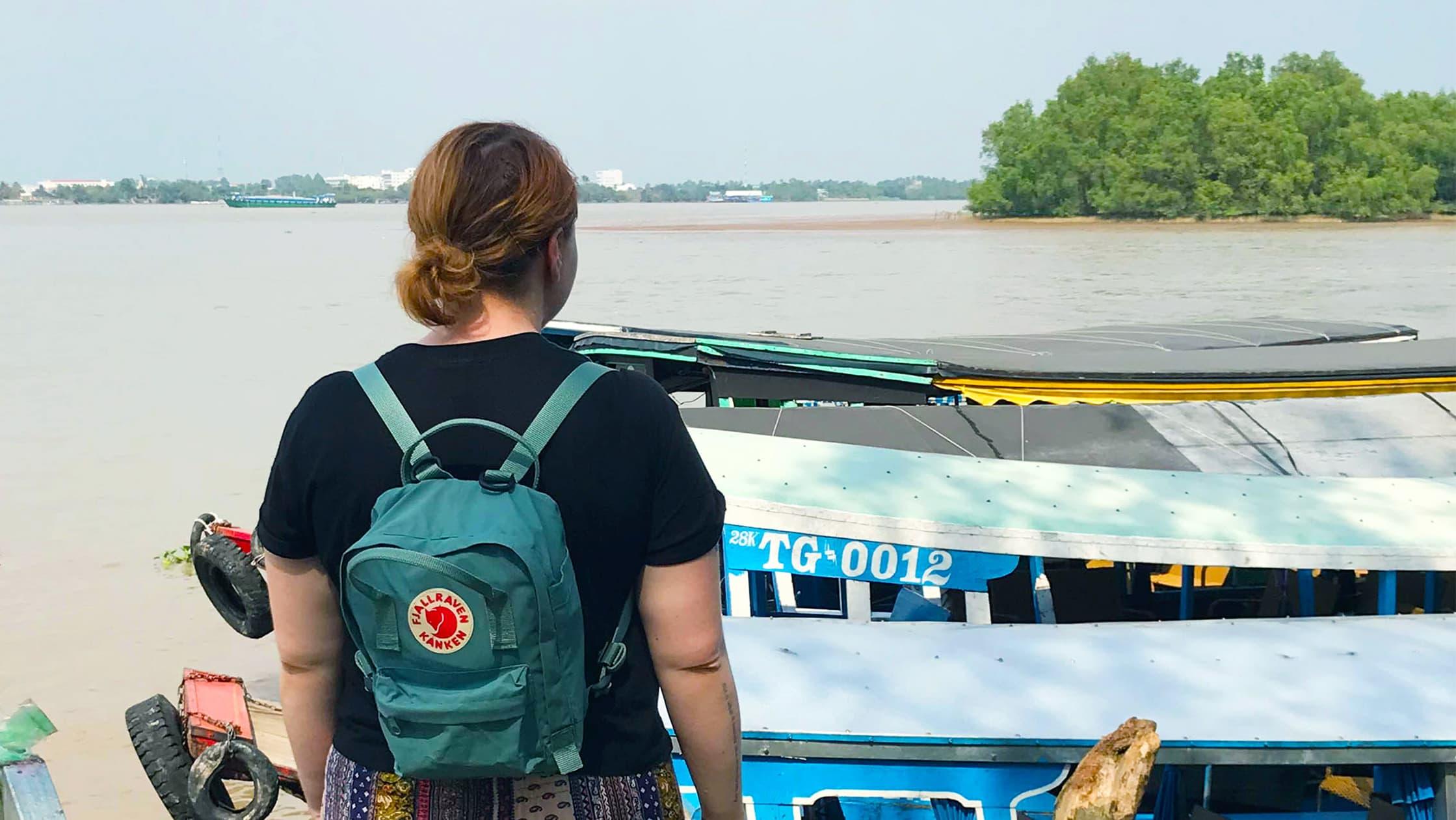 Fjallraven Kanken Mini Mekong Delta