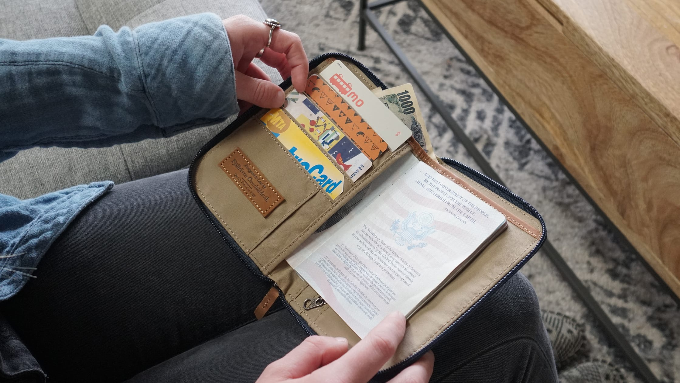 Fjallraven Passport Holder