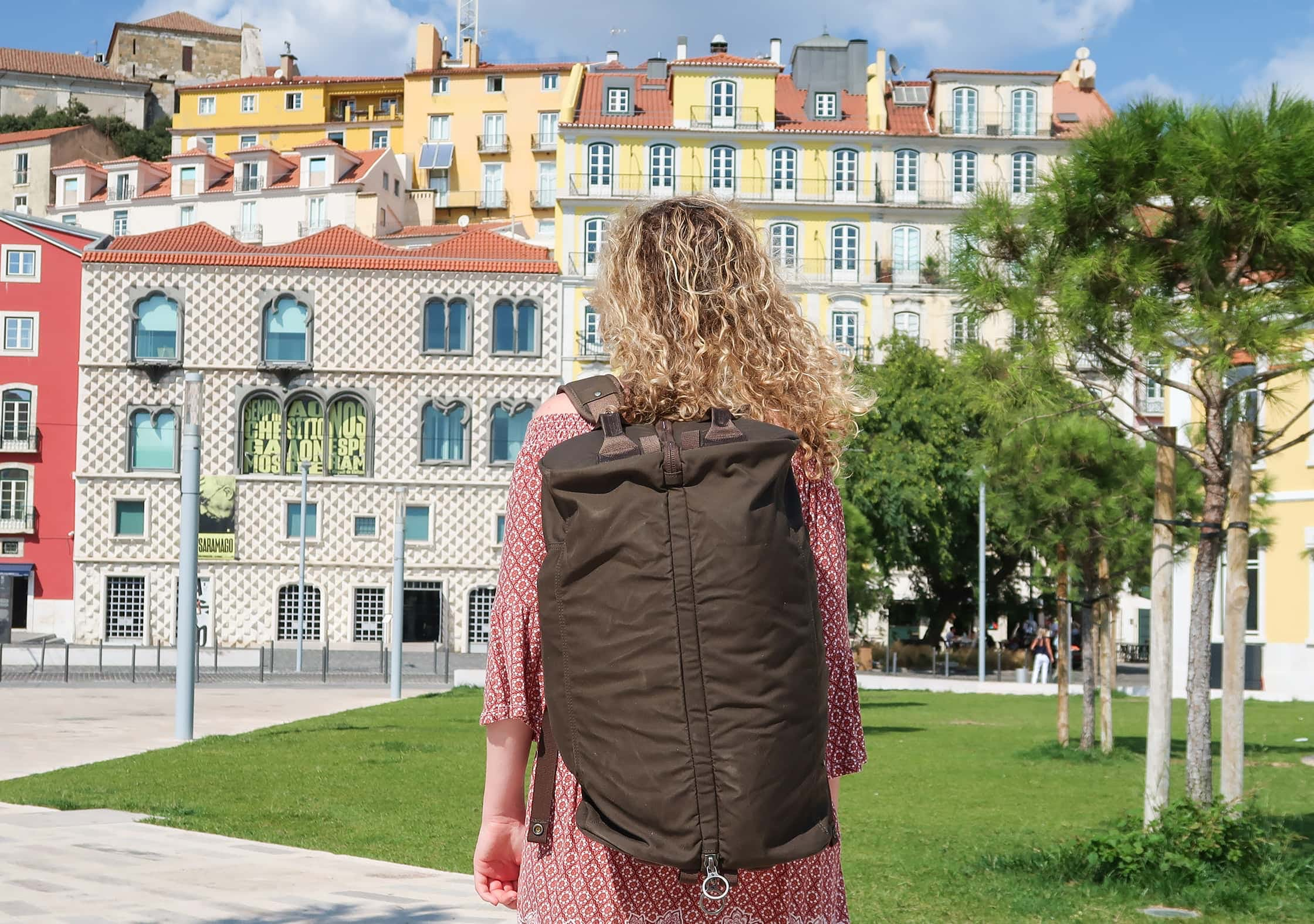 Fjallraven Splitpack In Lisbon, Portugal 1