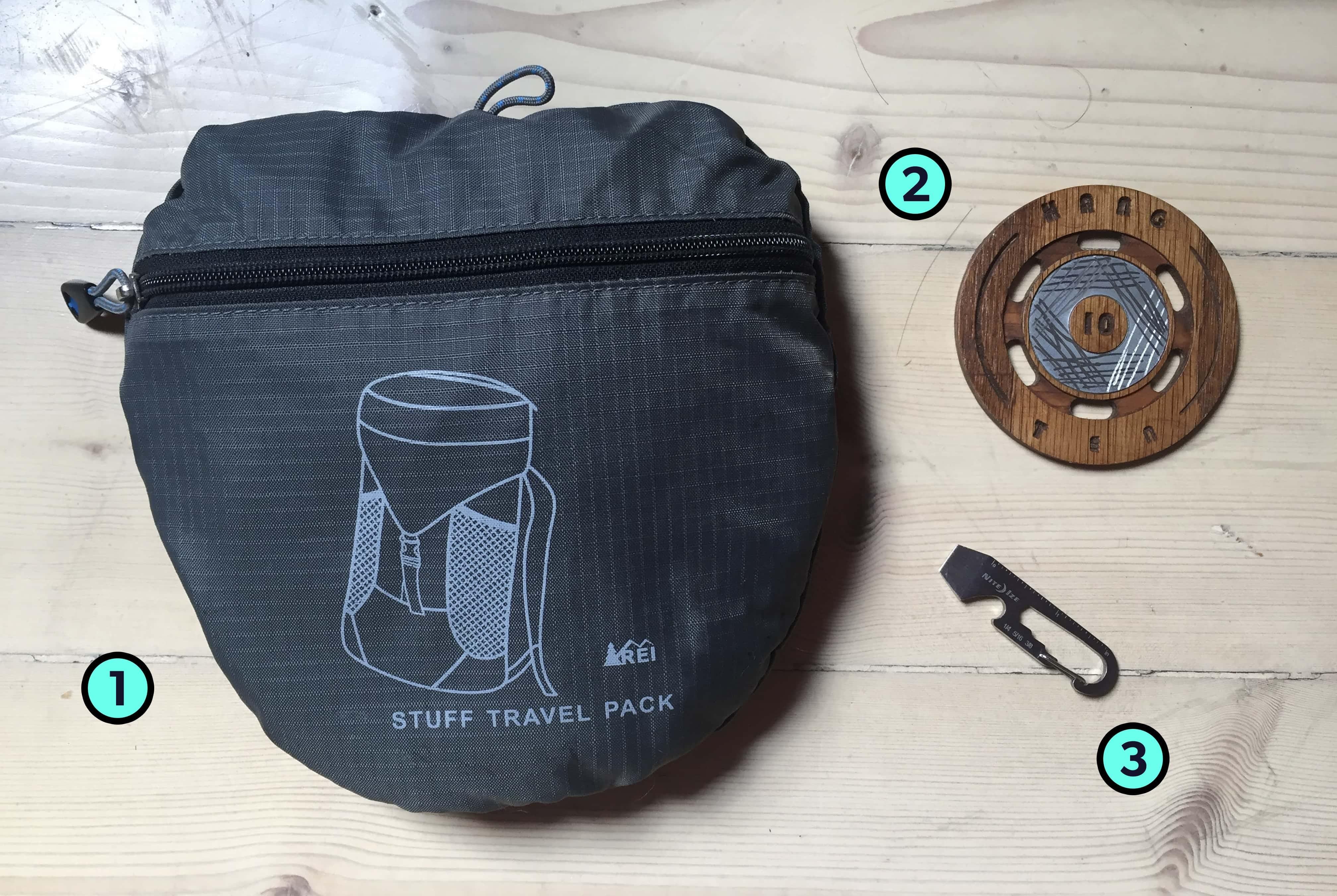 Jaayden Halko's Trusty Travel Items