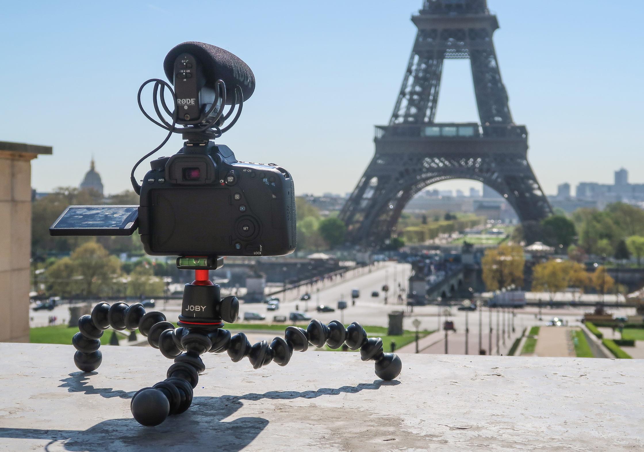 JOBY GorillaPod 3K At The Eiffel Tower In Paris, France