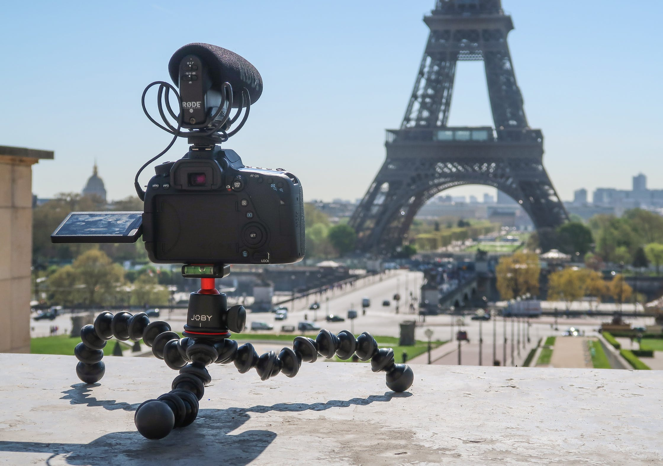 JOBY GorillaPod 3K At The Eiffel Tower In Paris, France