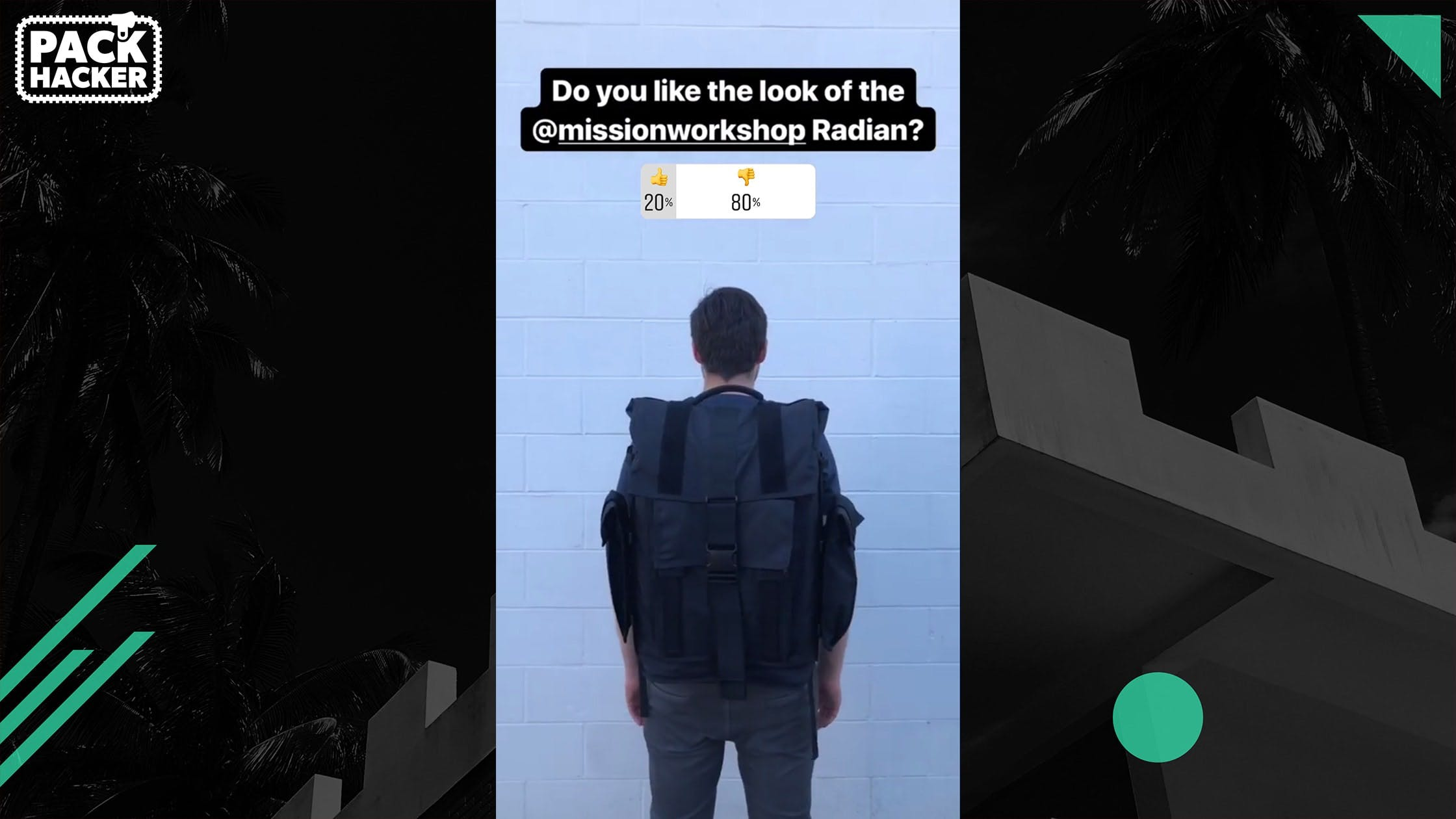 Mission Workshop Radian Instagram Poll