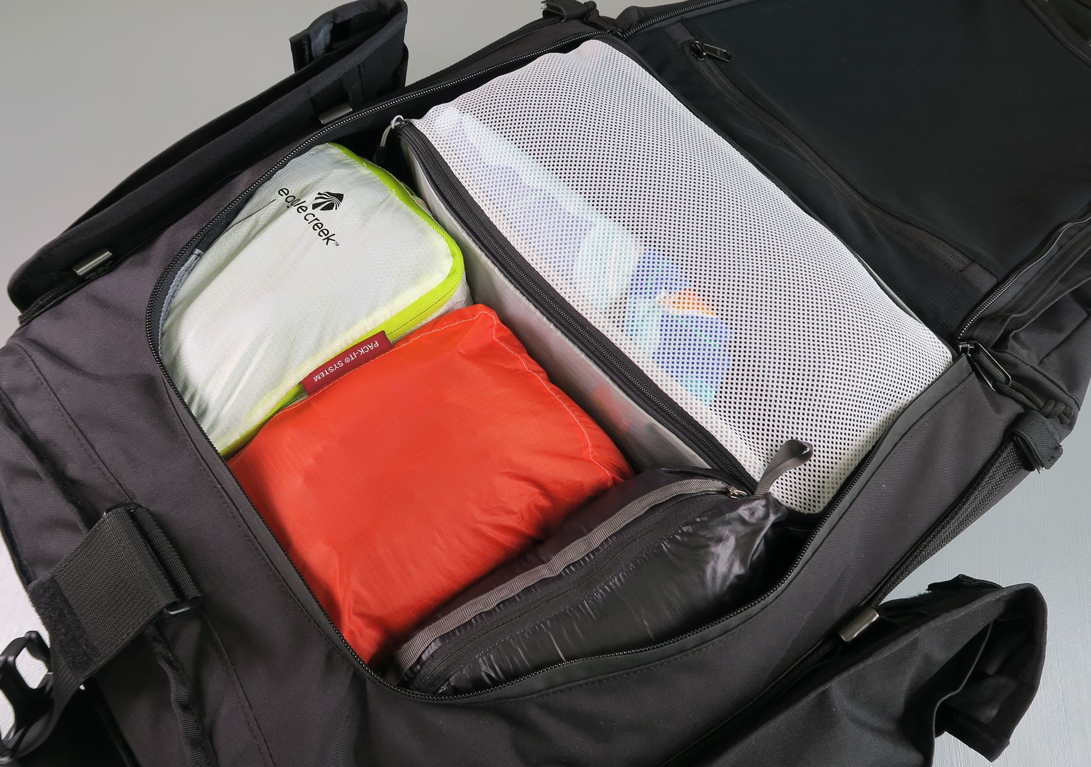 Mission Workshop Radian Main Compartment Packed