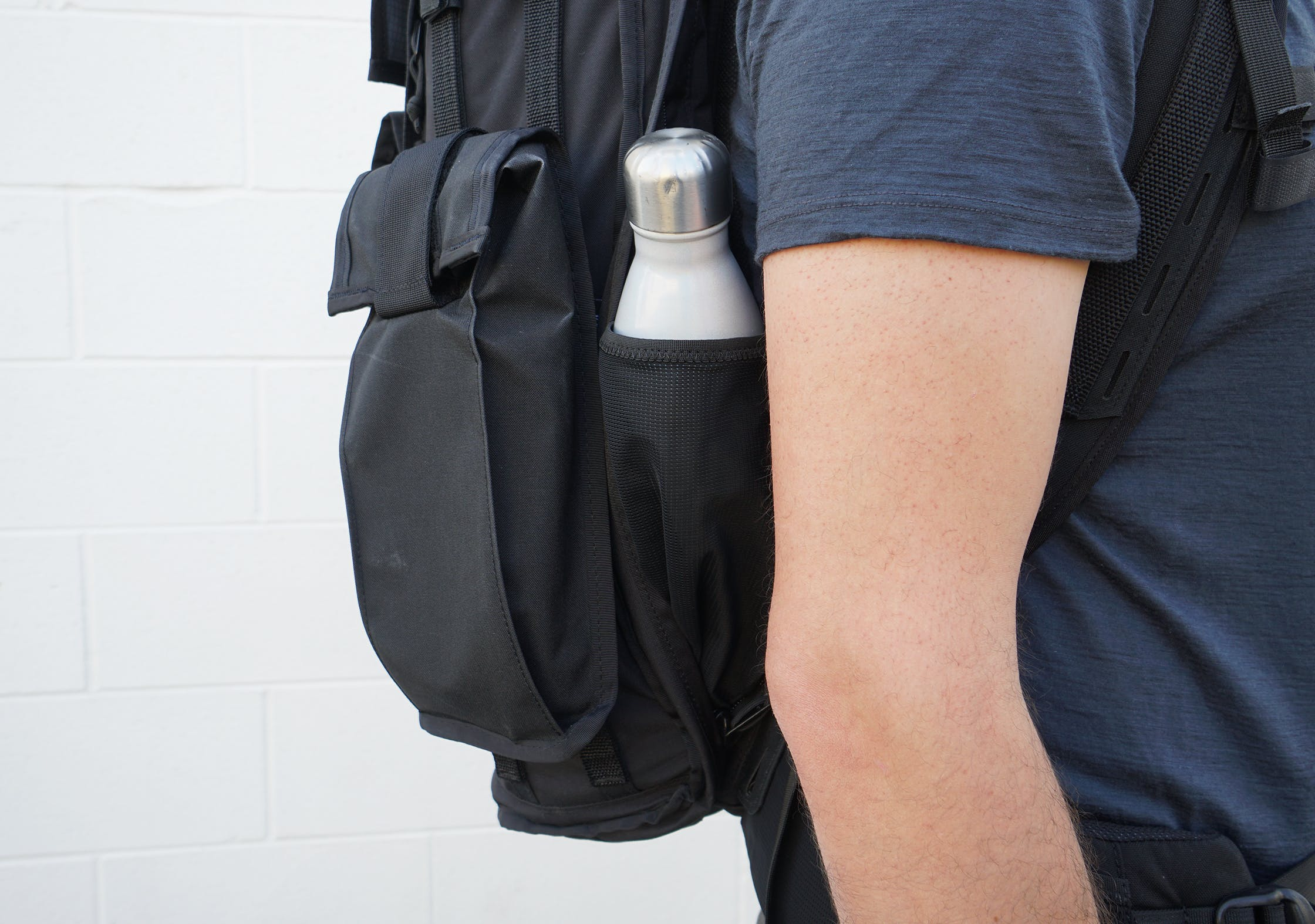 Mission Workshop Radian Hidden Water Bottle Pocket