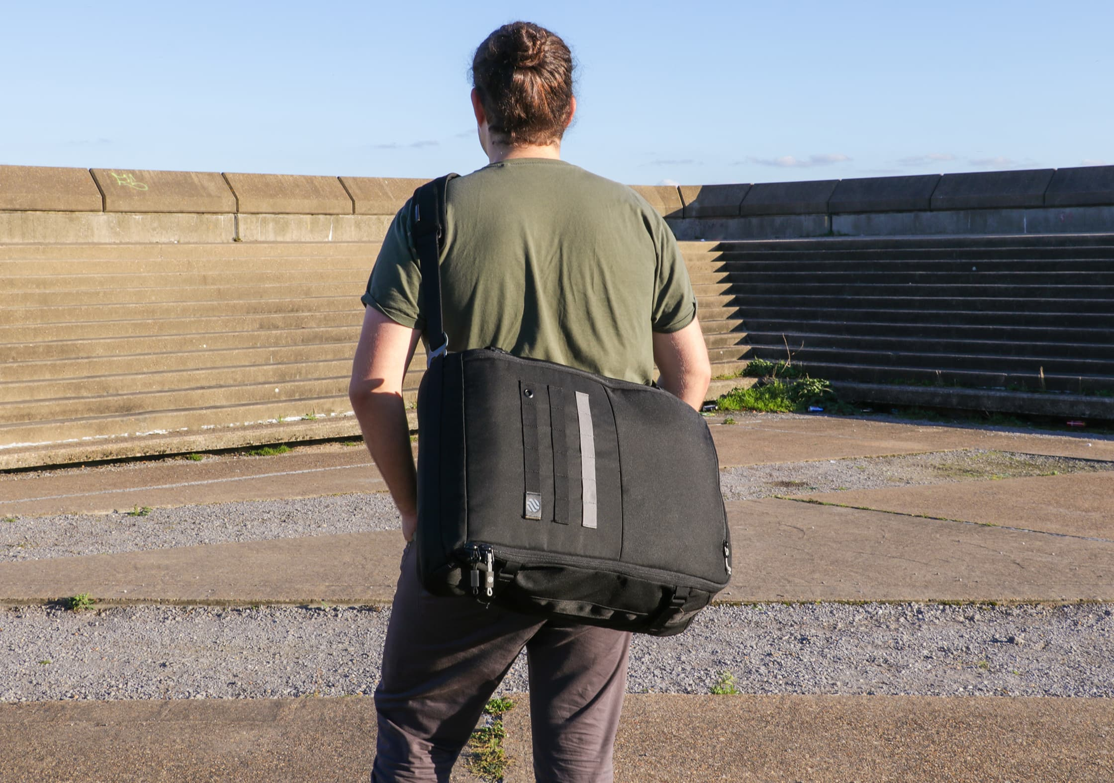 Using The Heimplanet Monolith Weekender As A Messenger Bag