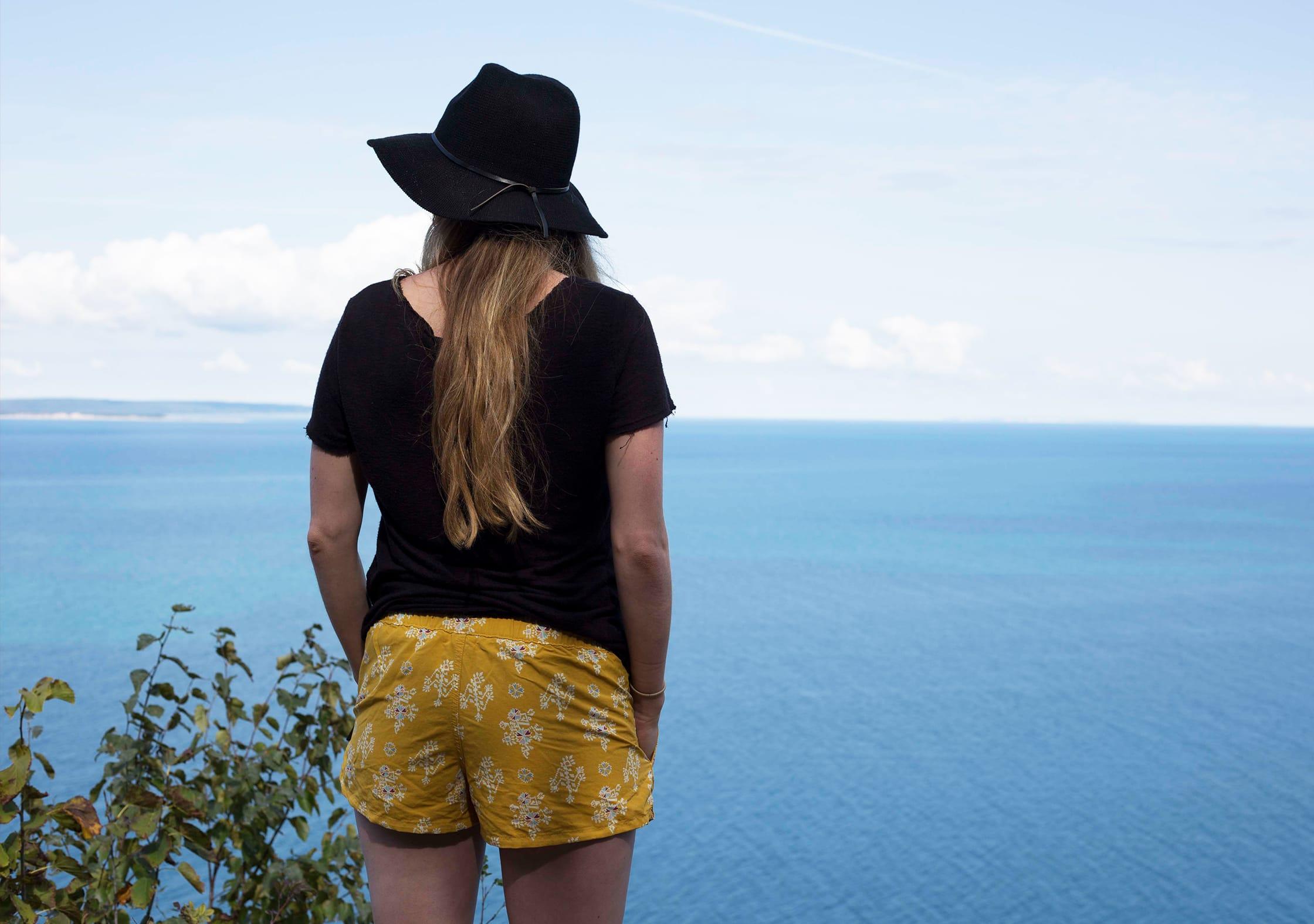 Patagonia Women's Barely Baggies™ Shorts at Sleeping Bear Dunes National Lakeshore
