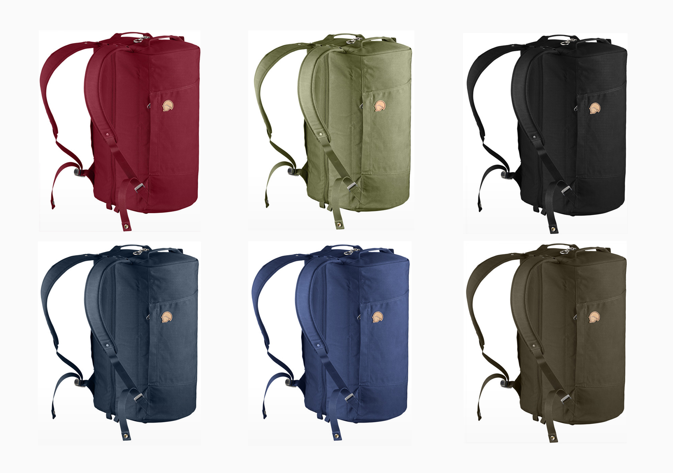 Range Of Colors The Fjallraven Splitpack Is Available In
