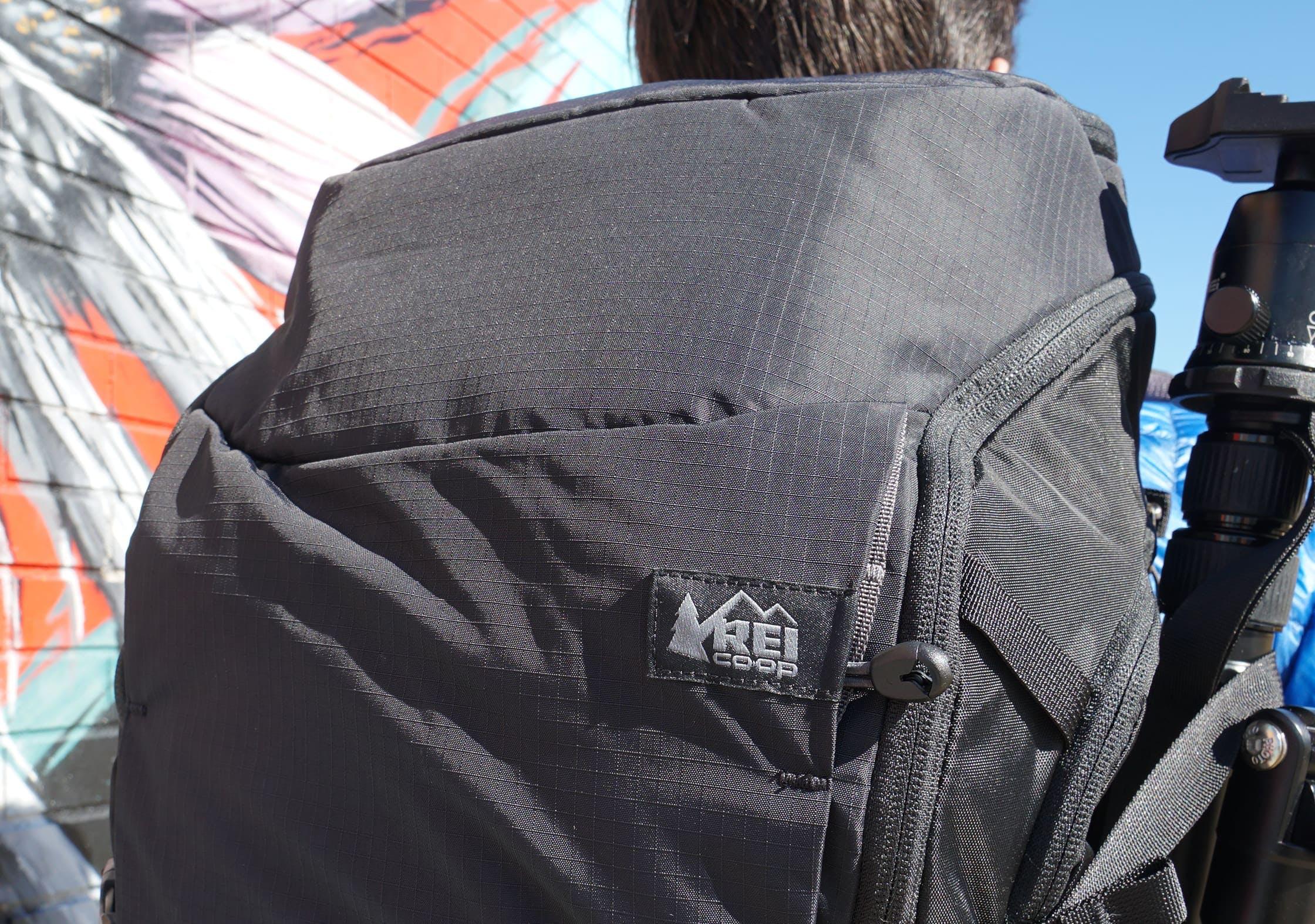 REI Ruckpack 40 Branding