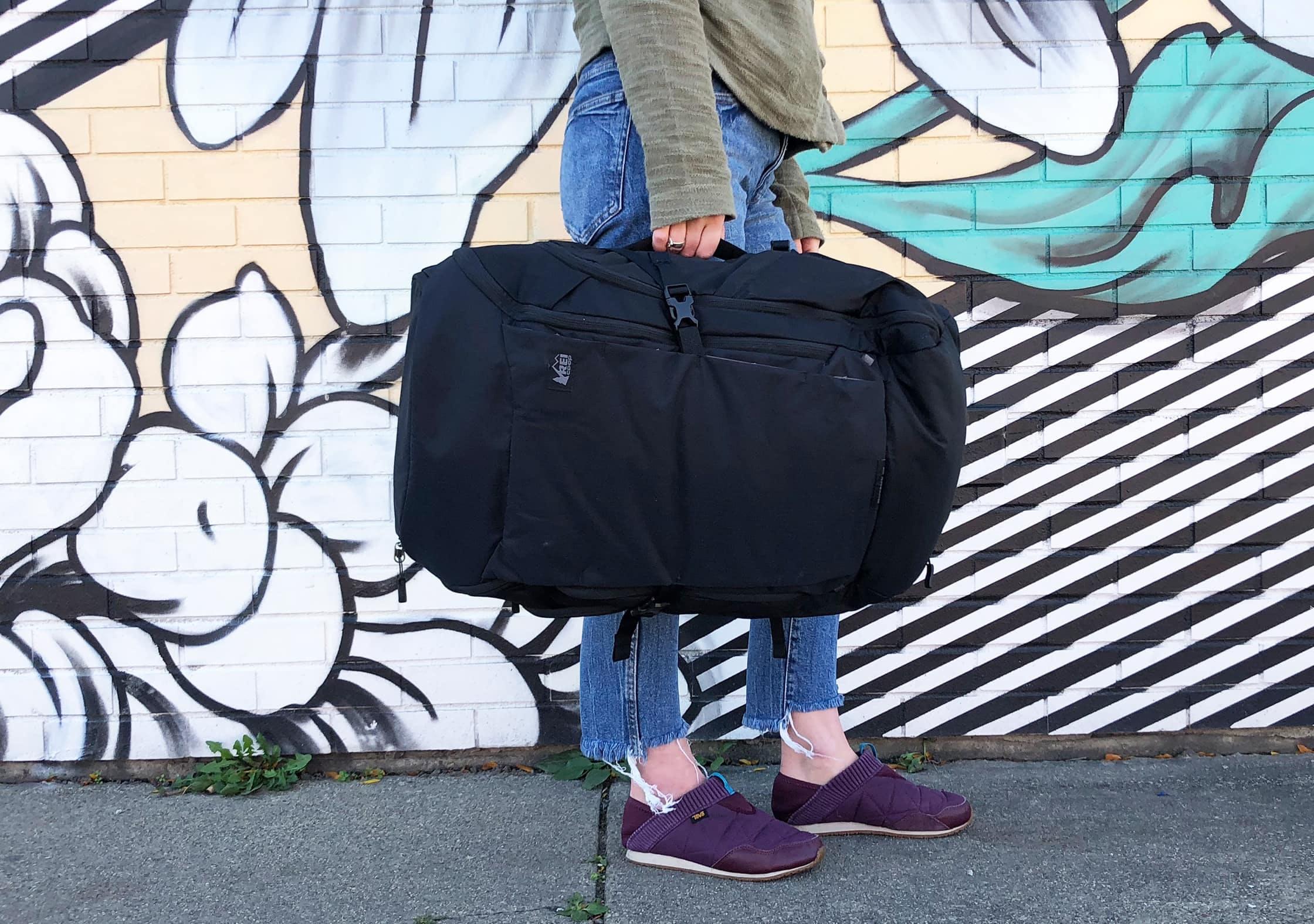 REI Ruckpack 40 Side Handle