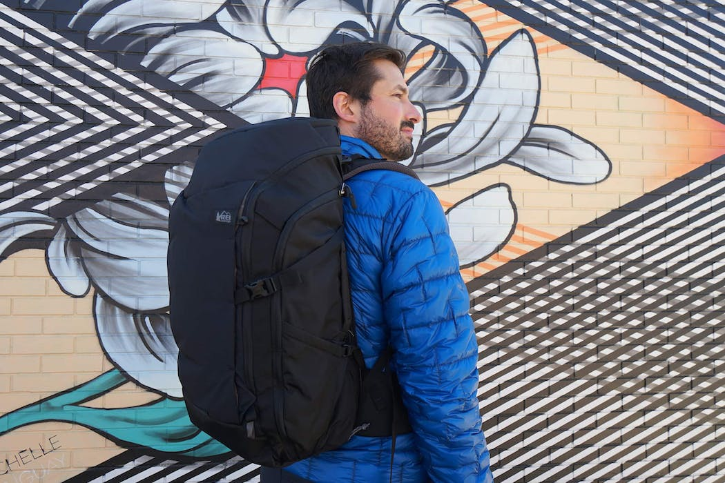 REI Ruckpack In Use