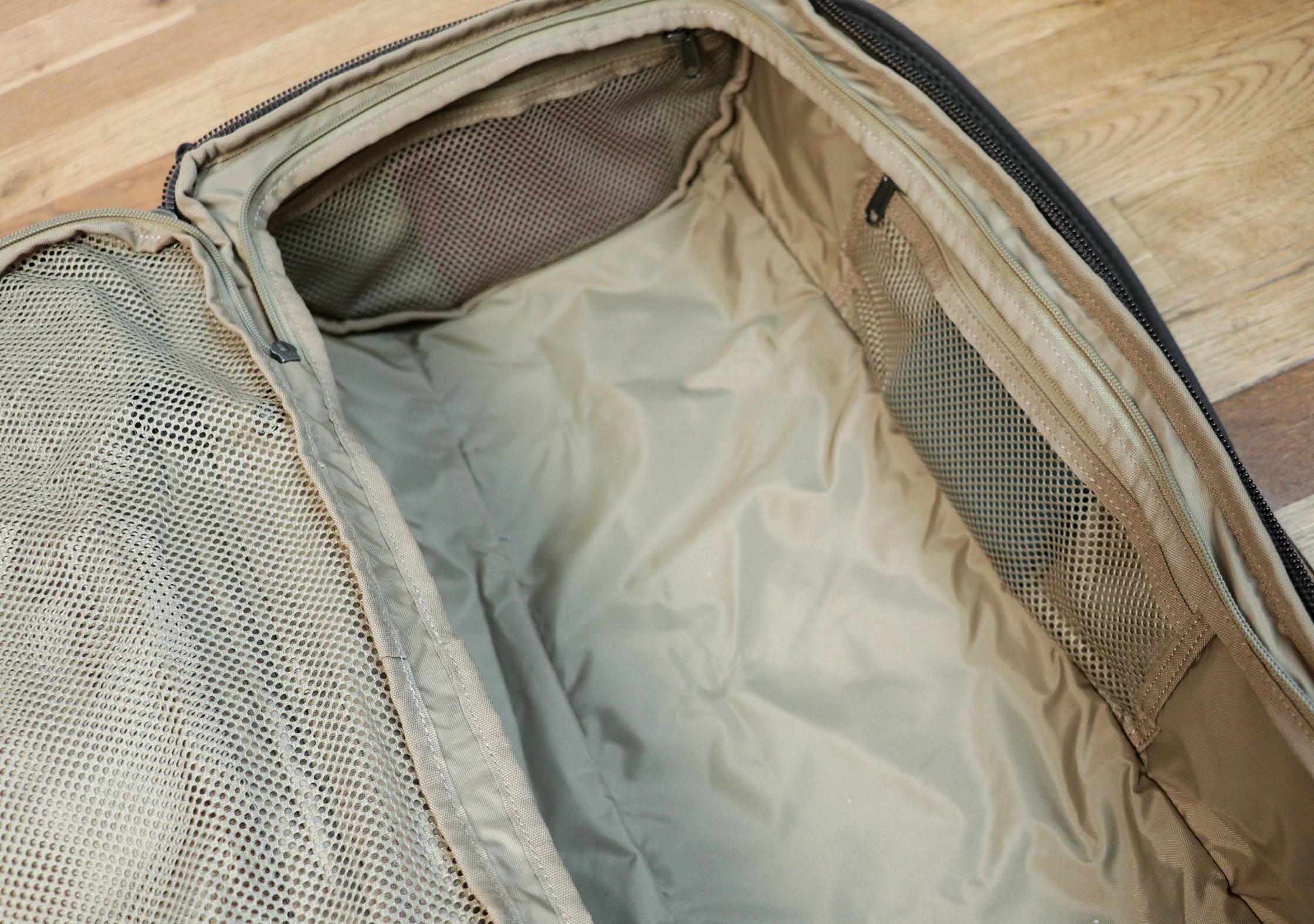 Right-Side Compartment Of The Fjallraven Splitpack