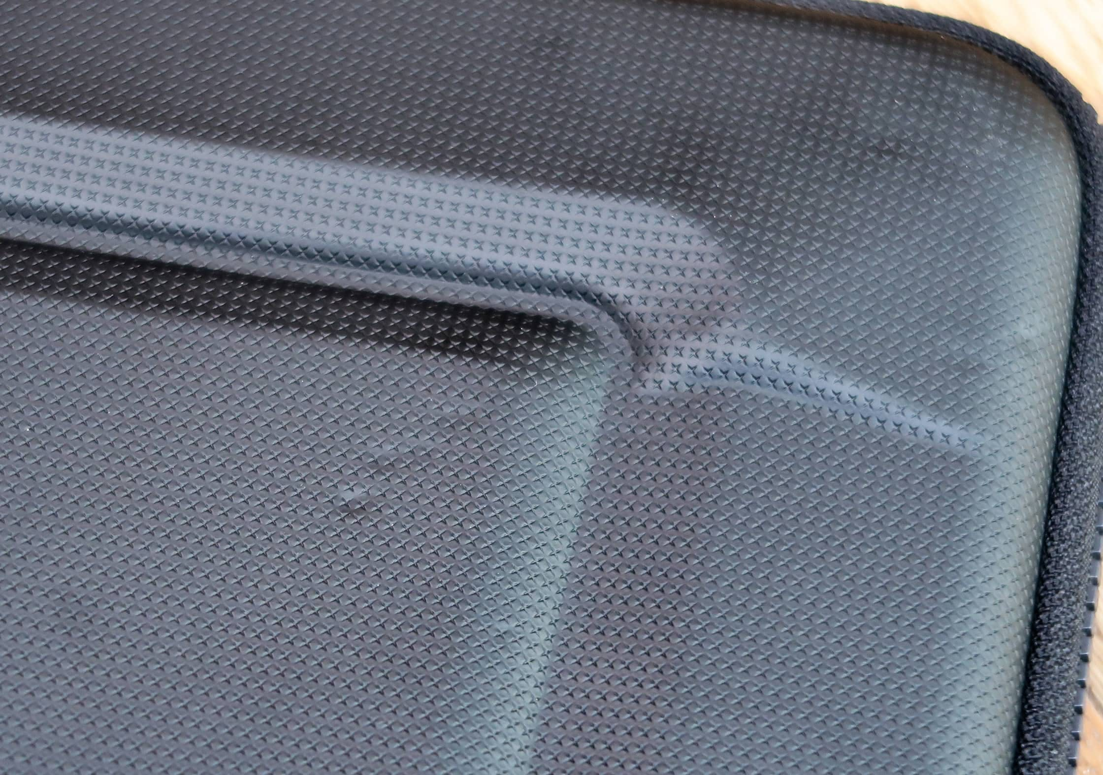 Small Dents In The PU Material Of The Thule Gauntlet 3.0 Laptop Sleeve
