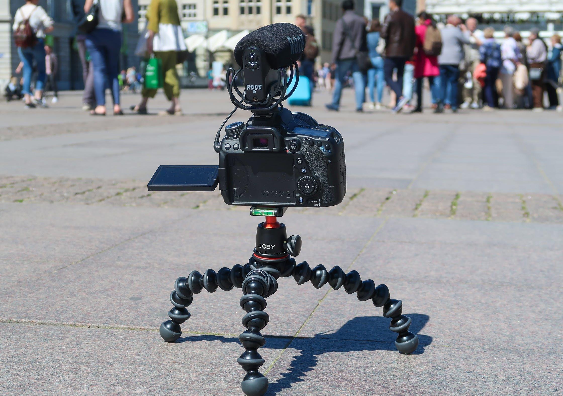 Using The JOBY GorillaPod 3K As A Tripod In Hamburg, Germany