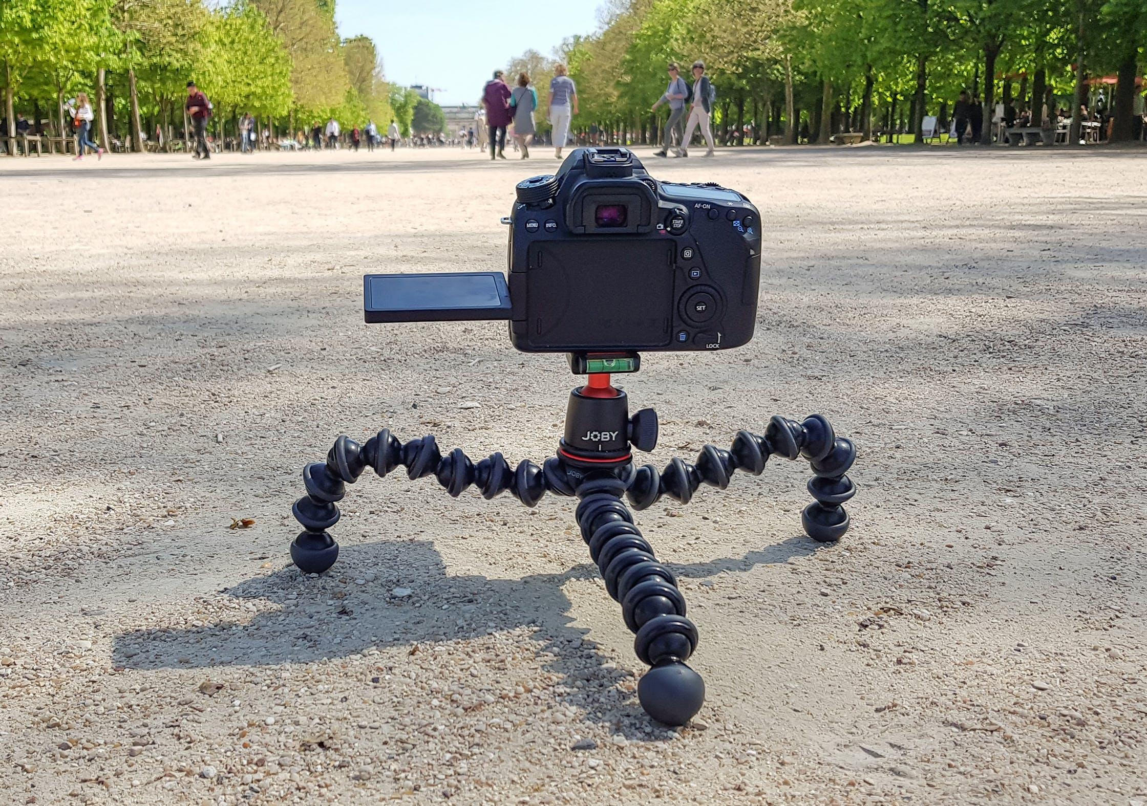 JOBY GorillaPod 3K In Tuileries Garden, Paris, France