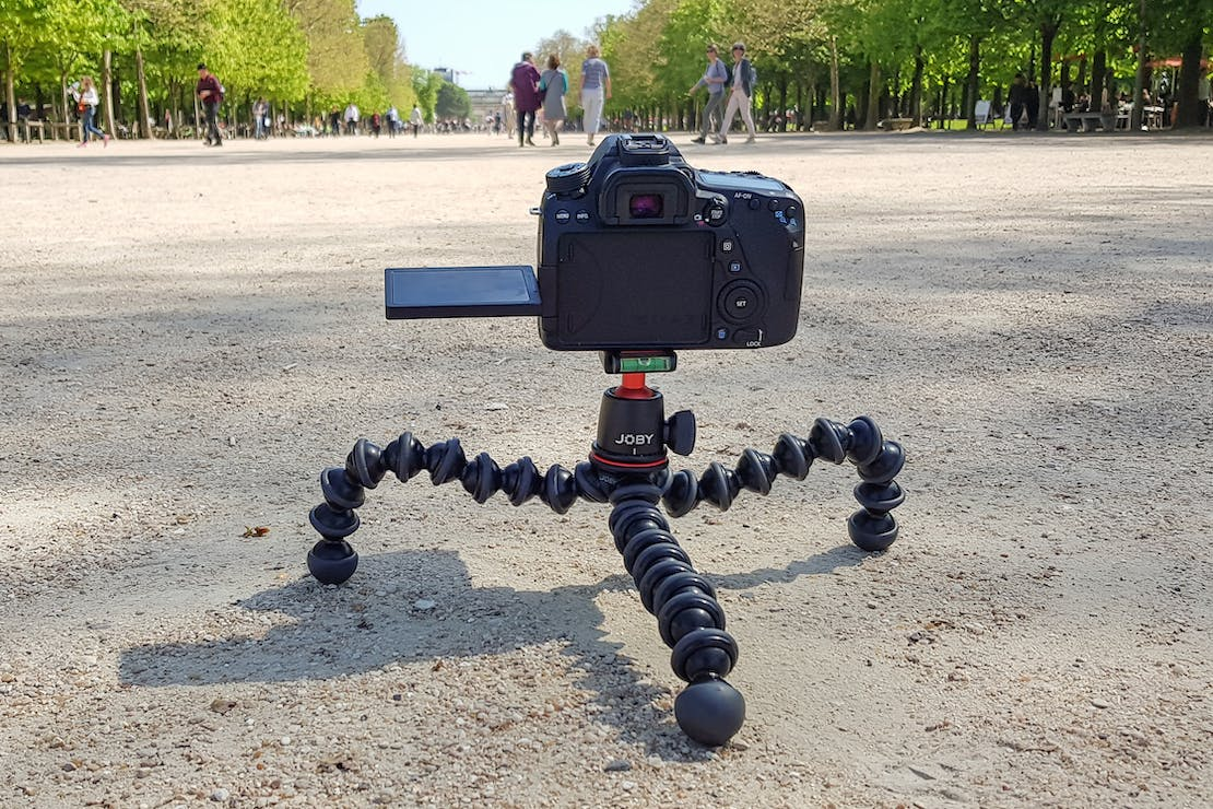JOBY GorillaPod 3K In Tuileries Garden, Paris, France