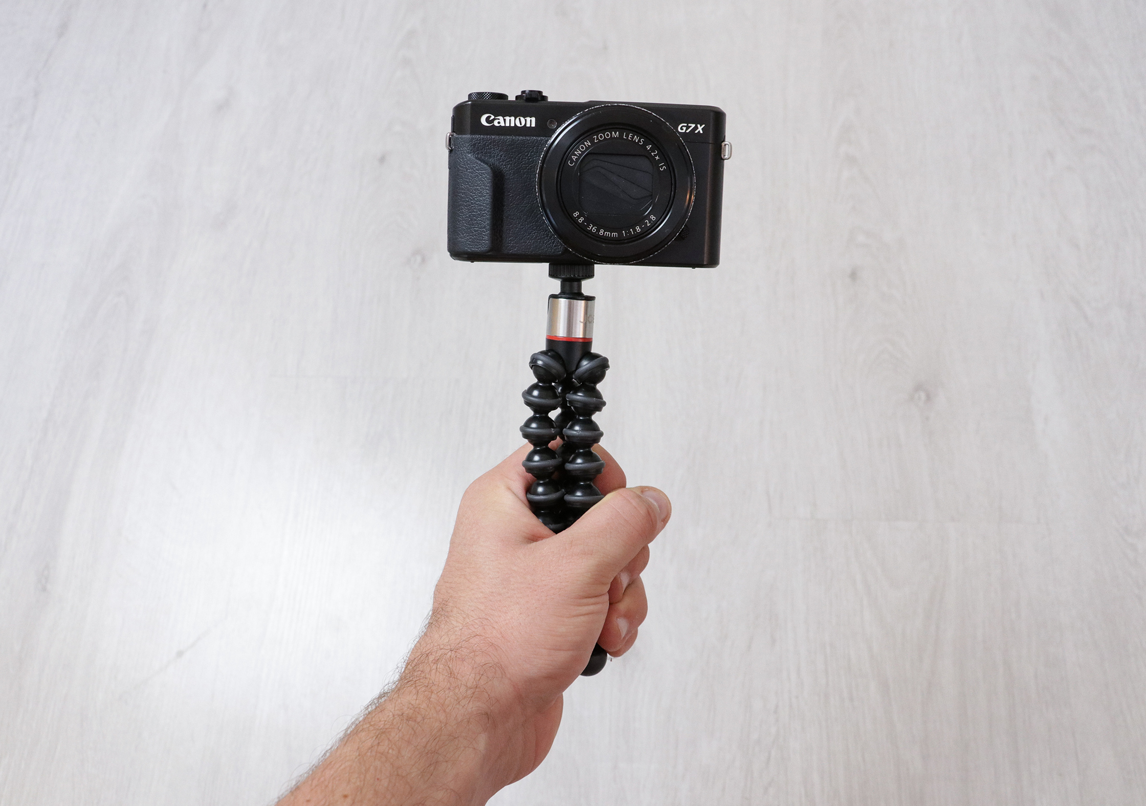 Using The JOBY GorillaPod 325 As A Grip