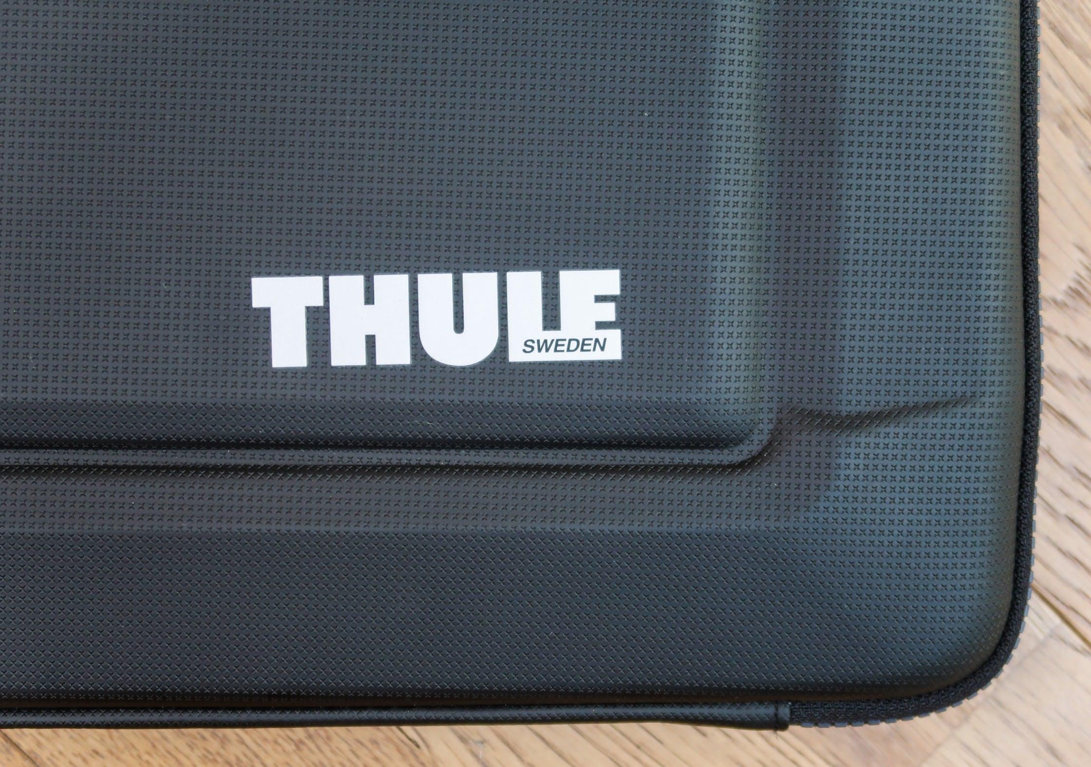 Wonky Thule Logo On The Gauntlet 3.0 Laptop Sleeve