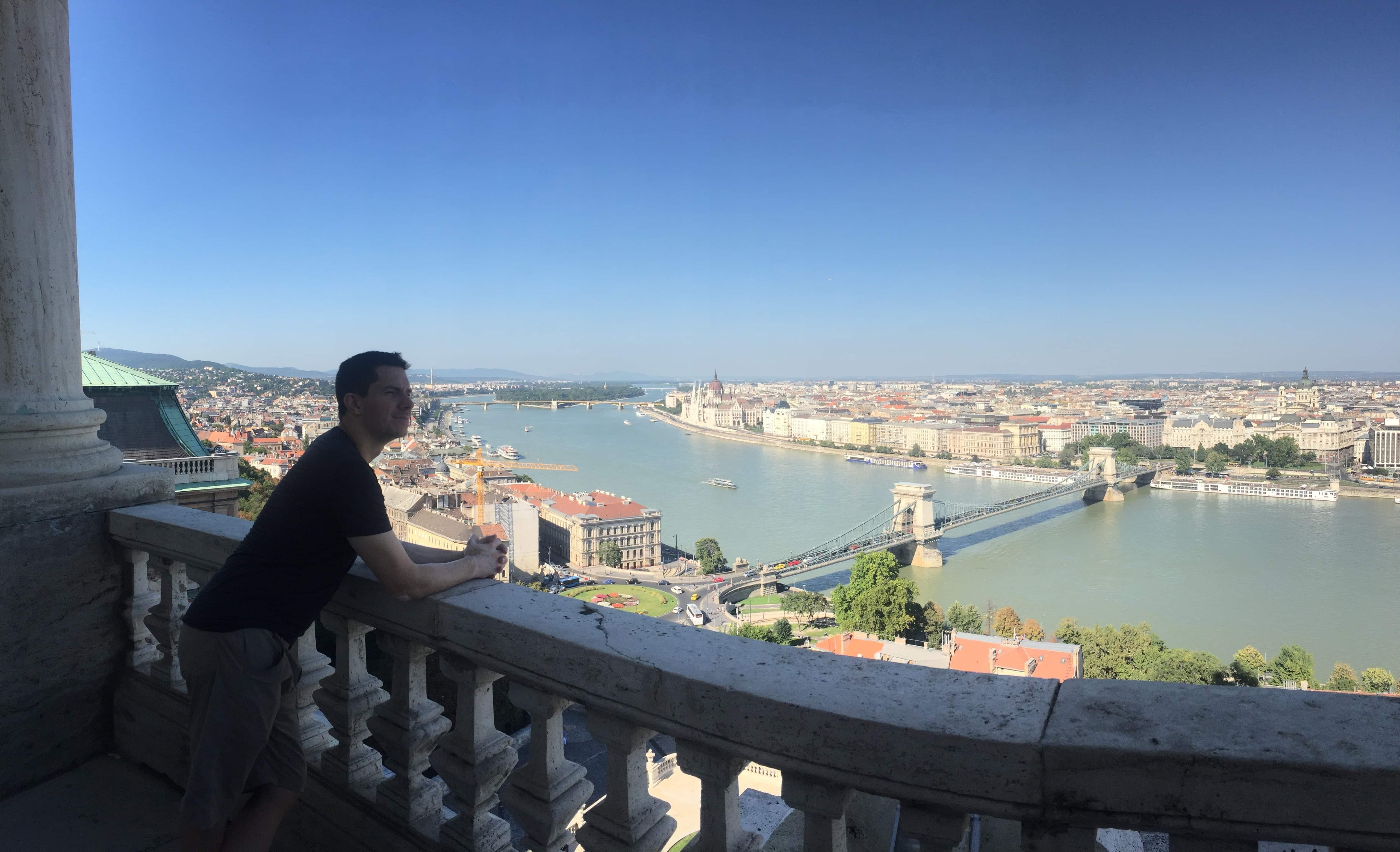 Jaayden Halko in Budapest