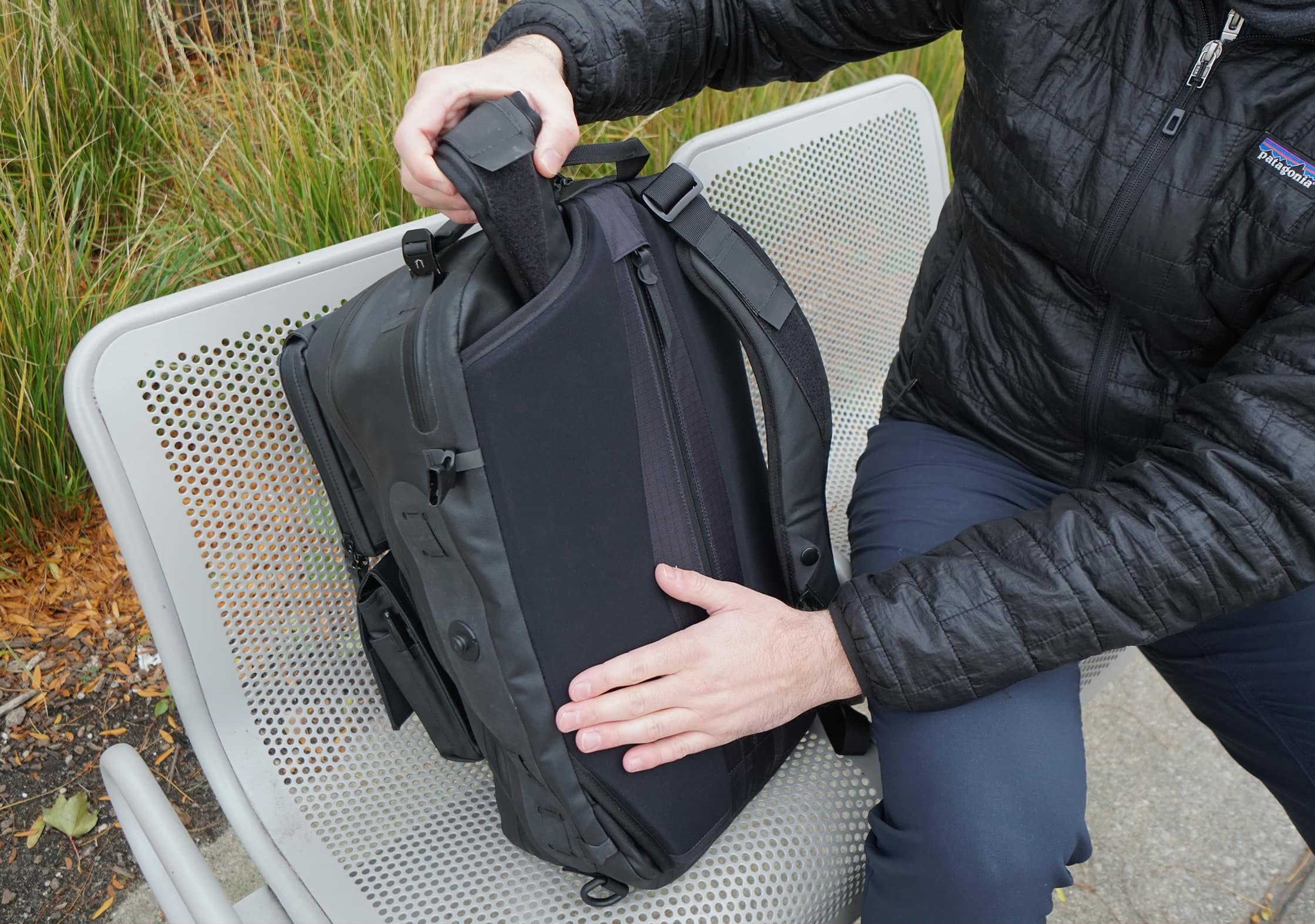 Black Ember Citadel Modular Backpack - Hiding Straps