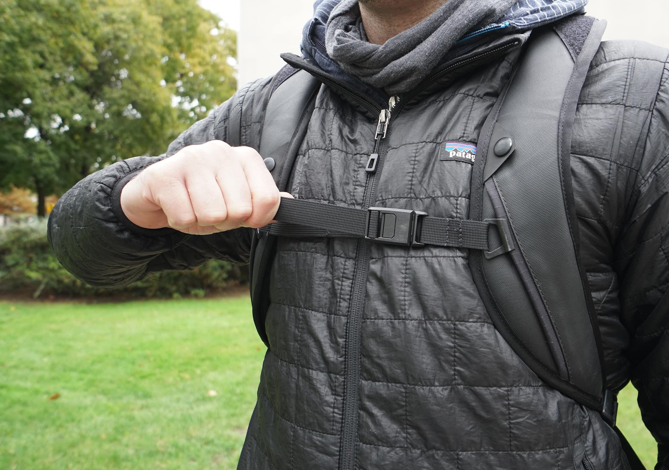 Black Ember Citadel Modular Backpack Sternum Strap