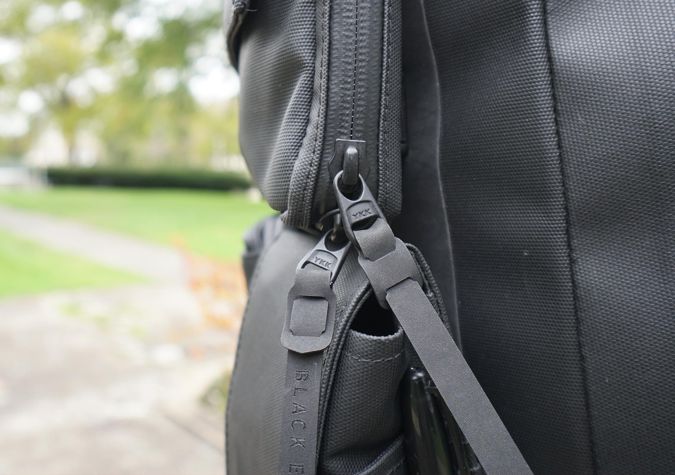 Black Ember Citadel Modular Backpack YKK Zips